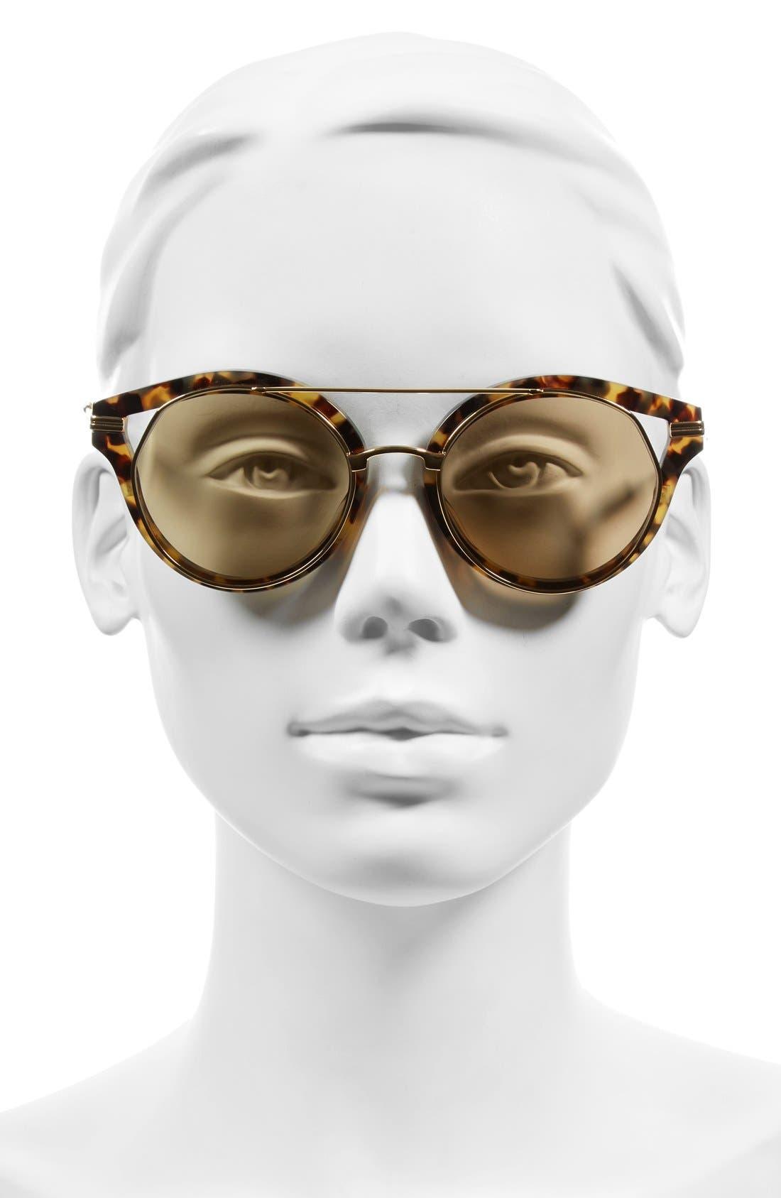 Alternate Image 4  - Sonix Preston 51mm Gradient Round Sunglasses