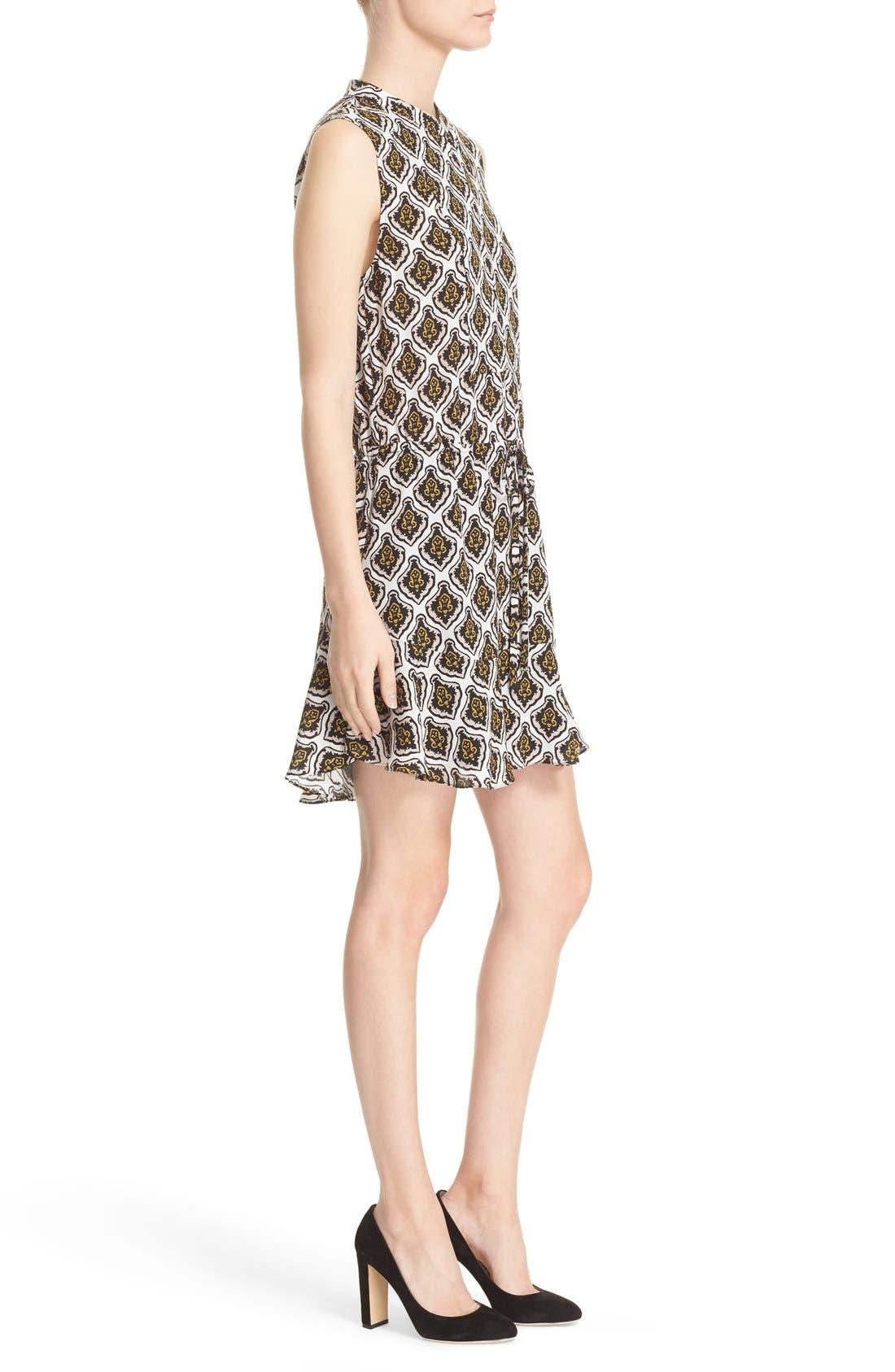 Alternate Image 3  - A.L.C. Calder Print Silk Fit & Flare Dress