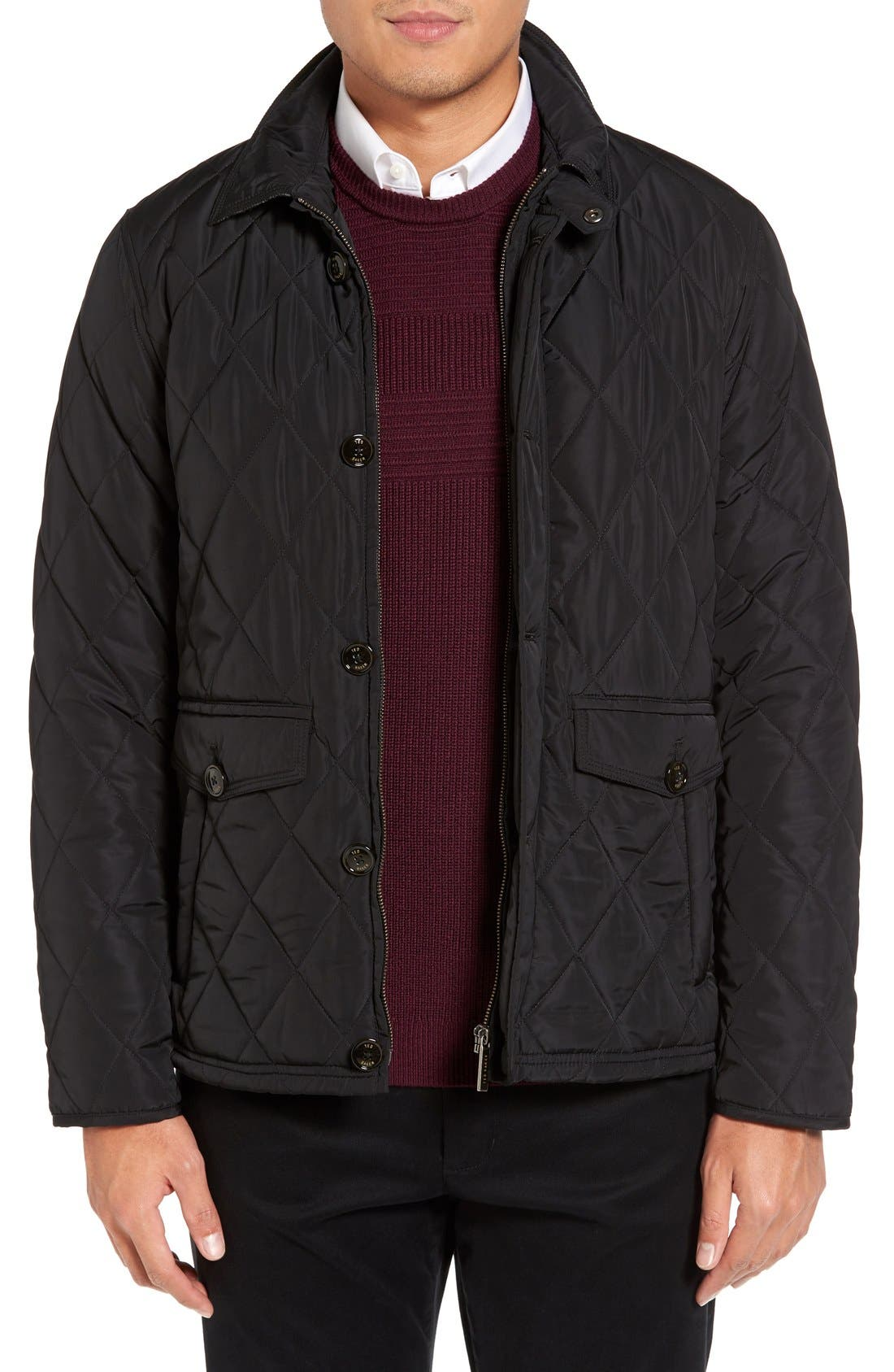 Alternate Image 1 Selected - Ted Baker London Quilted Jacket