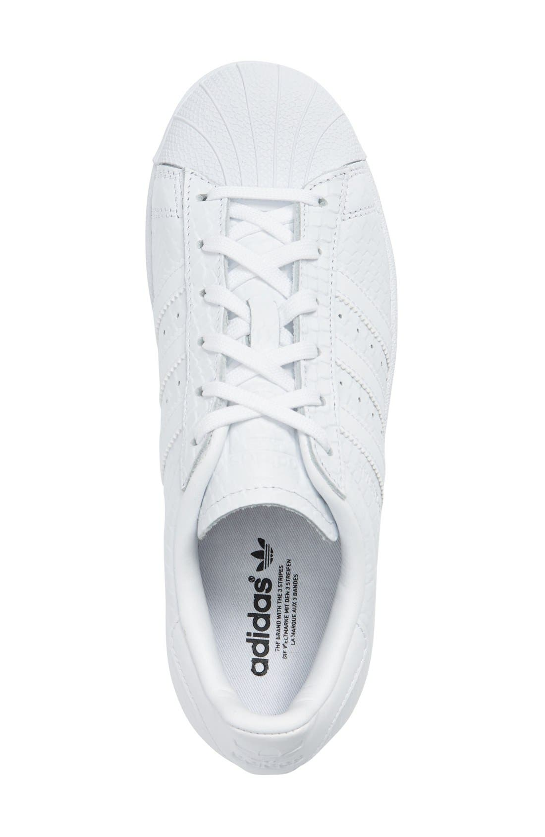 Alternate Image 4  - adidas Superstar Sneaker