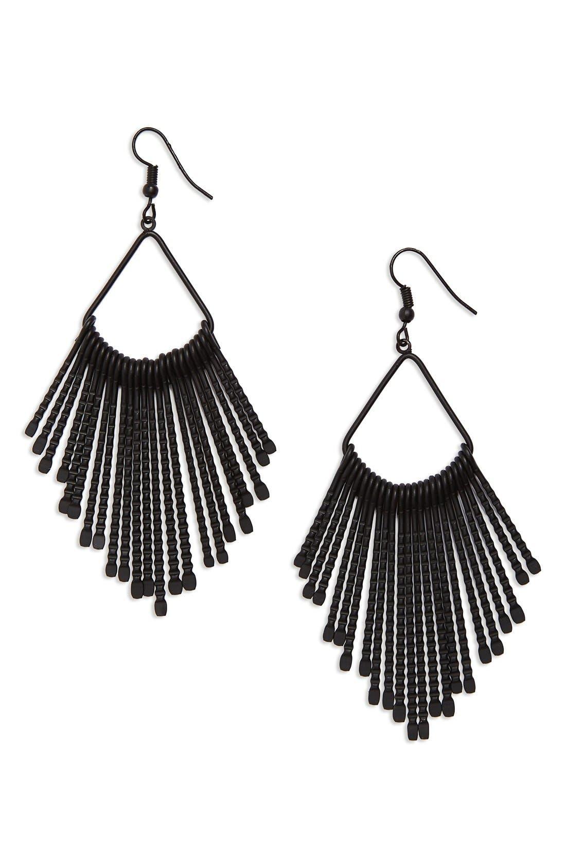 Main Image - Tasha Pendant Earrings