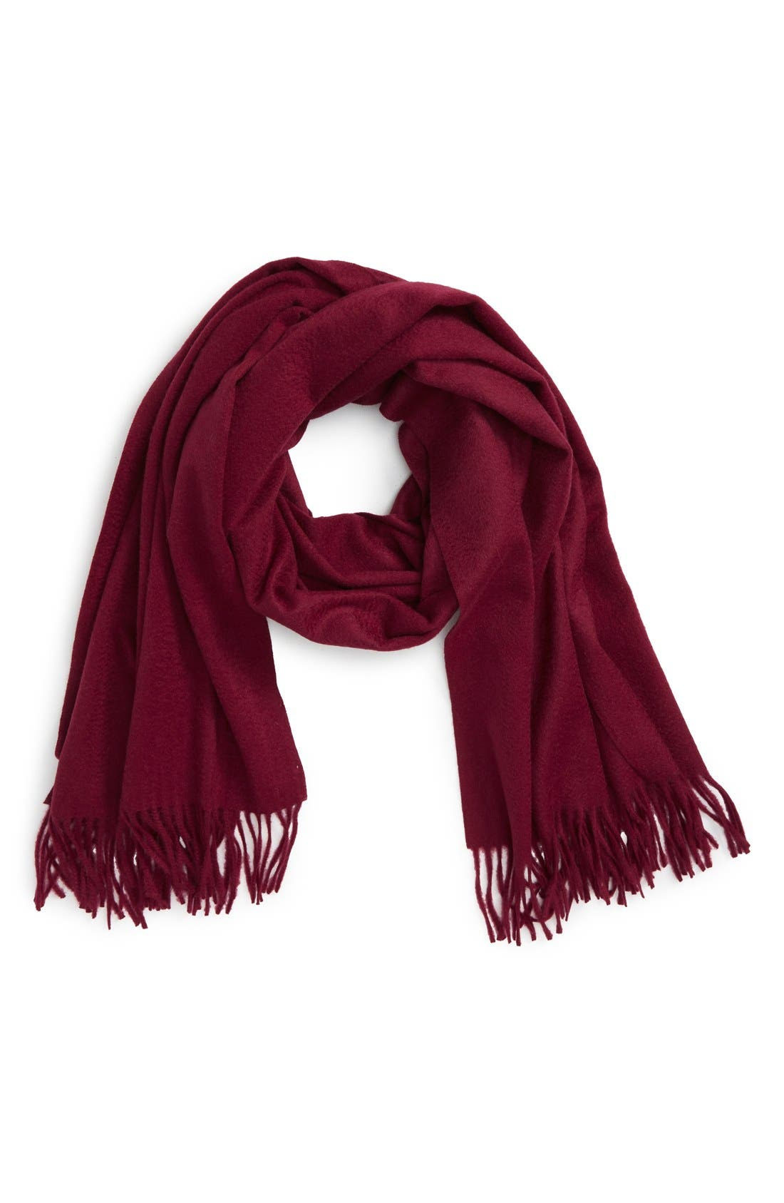 Alternate Image 1 Selected - Nordstrom Collection Oversize Cashmere Wrap