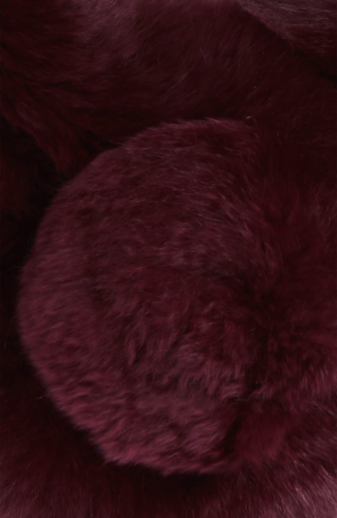 Alternate Image 3  - Vincent Pradier Genuine Rabbit Fur Scarf