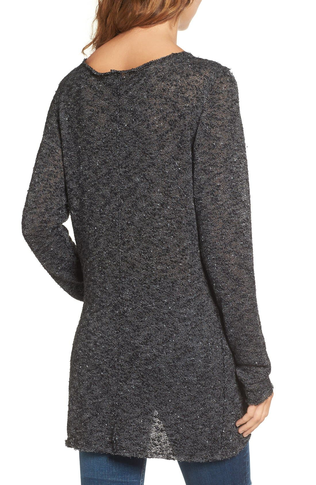Alternate Image 2  - Strom Carr Asymmetrical Tunic Sweater