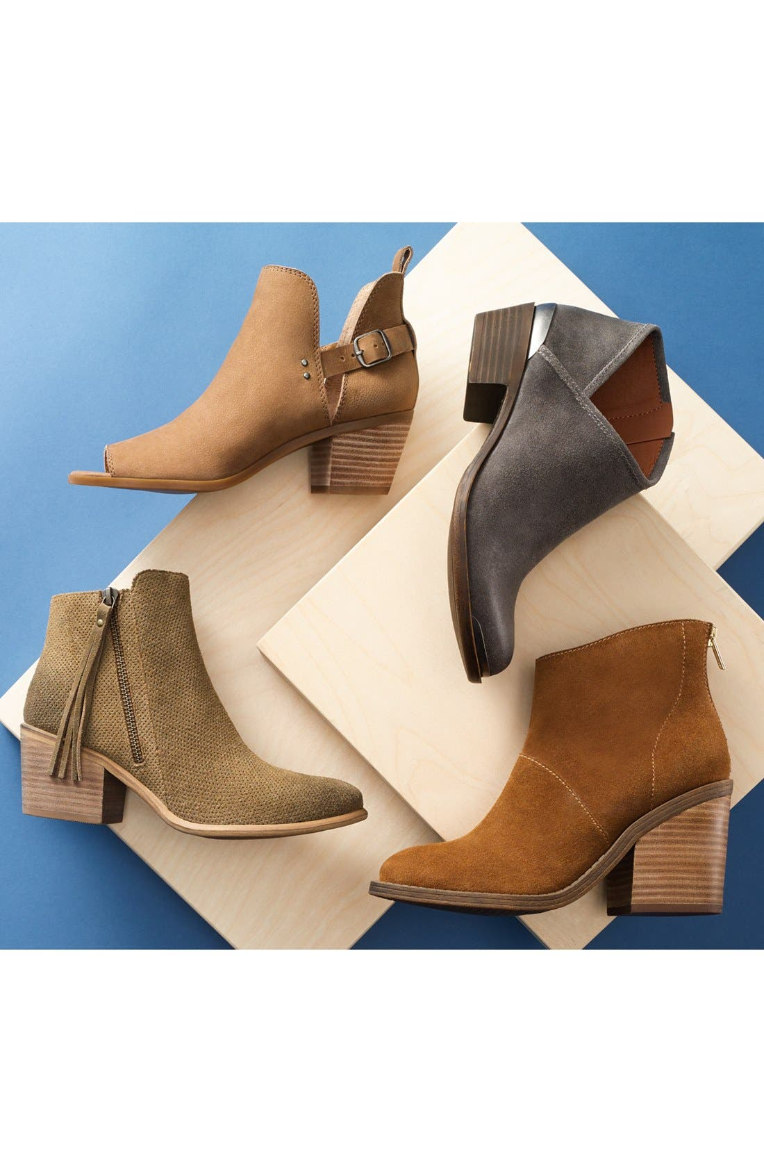 Alternate Image 5  - Lucky Brand Breeza Asymmetrical Bootie (Women)