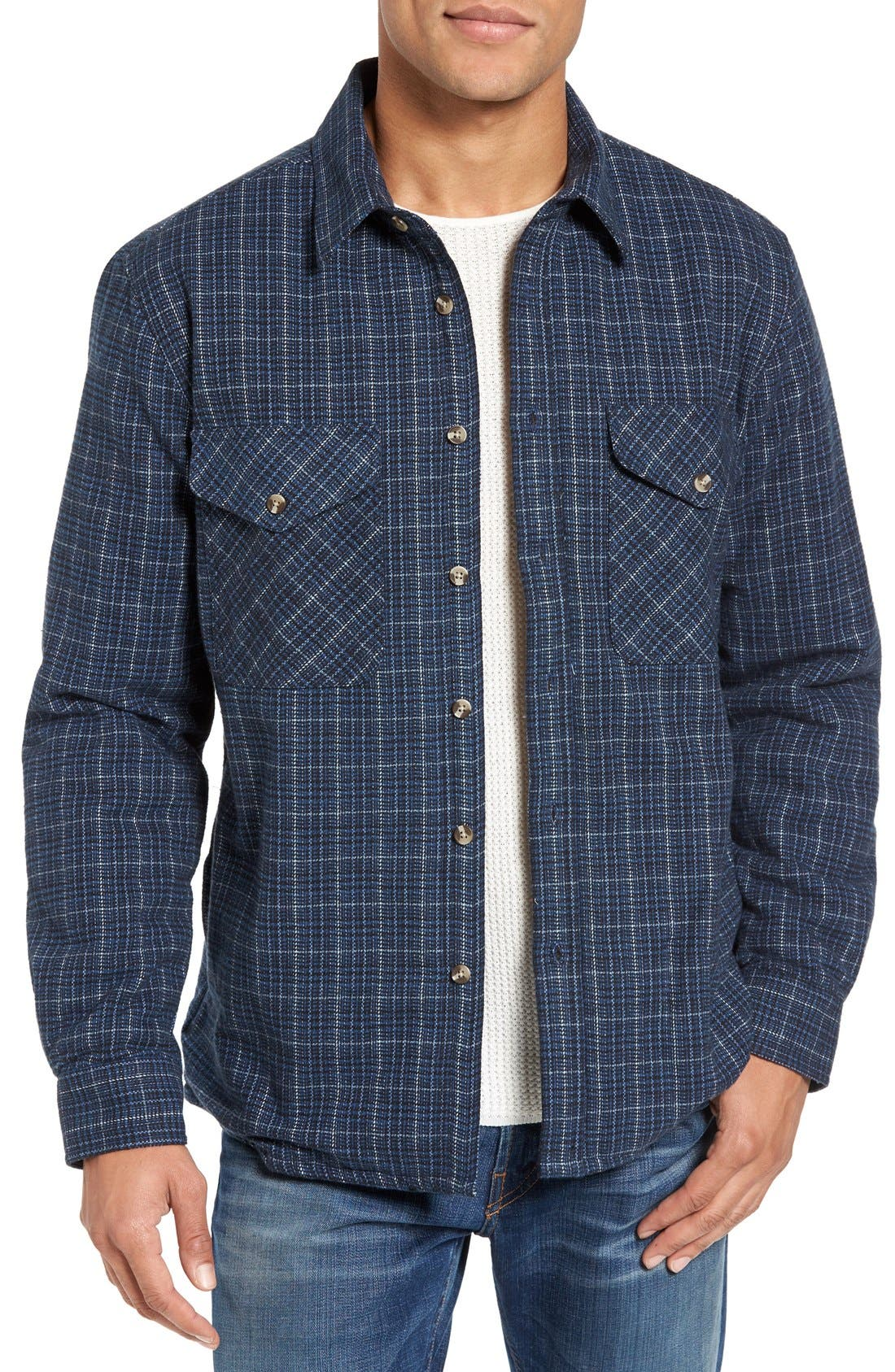 Schott NYC Plaid Shirt Jacket