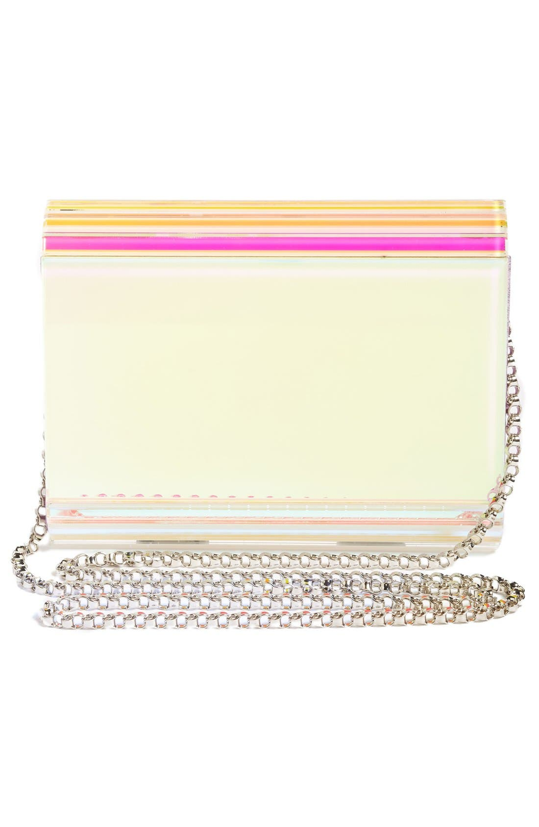 Alternate Image 2  - Jimmy Choo Candy Holographic Clutch