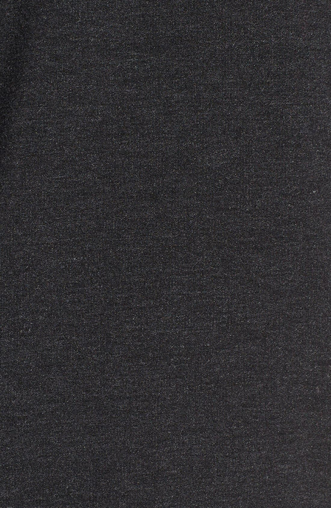 Alternate Image 5  - Nike Dri-Fit Training Fleece Hooded Sweatshirt