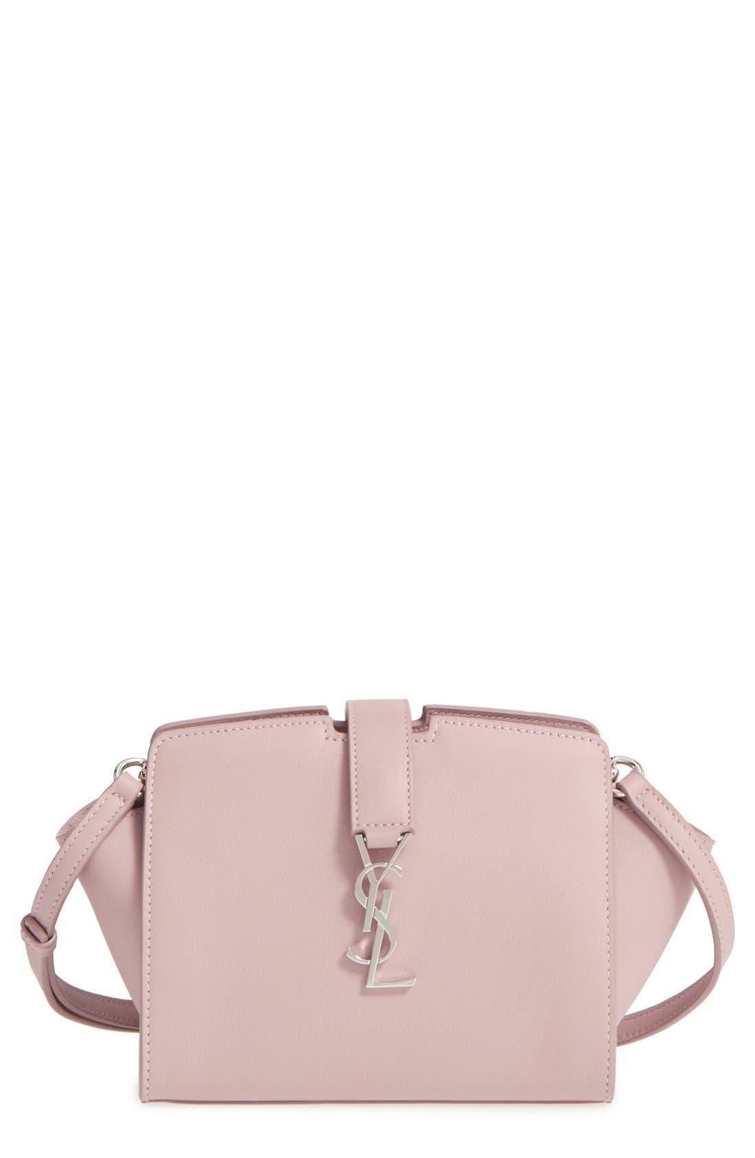 Alternate Image 1 Selected - Saint Laurent Toy Cabas Leather Crossbody Bag