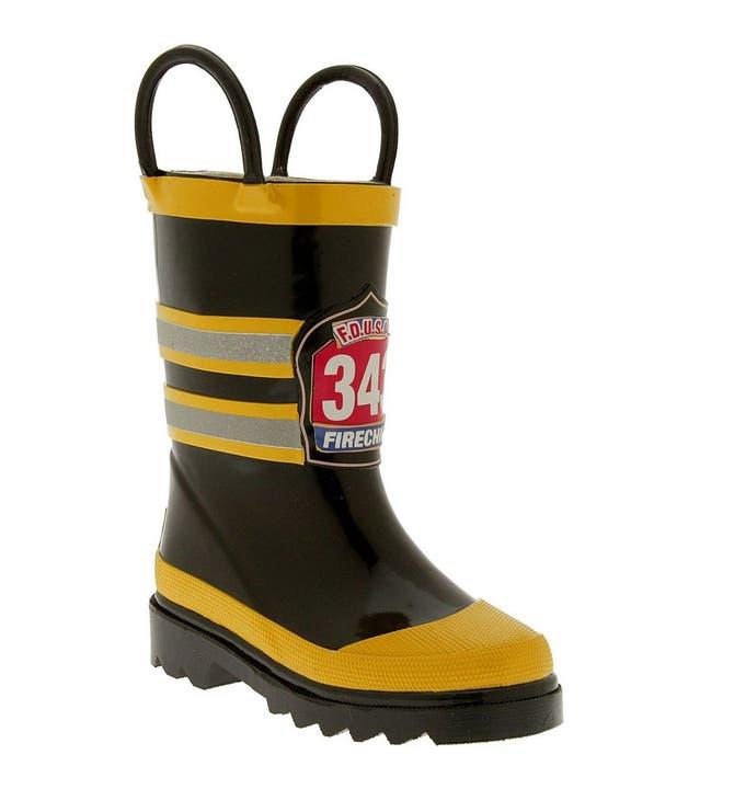 Western Chief 'Fireman' Rain Boot (Walker, Toddler, Little Kid ...