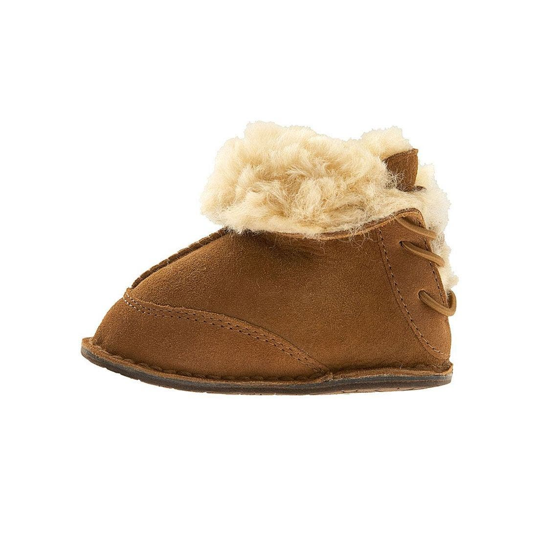 Alternate Image 2  - UGG® 'Boo' Bootie (Baby & Walker)