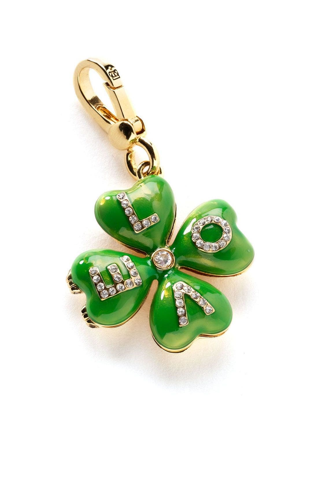 Alternate Image 1 Selected - Juicy Couture Clover Leaf Charm