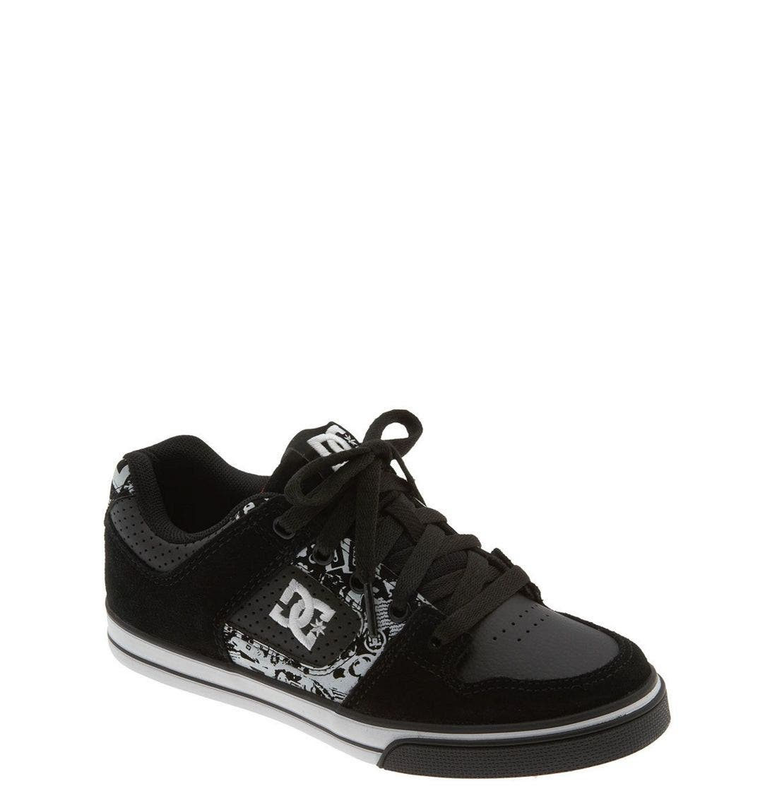Main Image - DC Shoes 'Pure' Sneaker (Toddler, Little Kid & Big Kid)