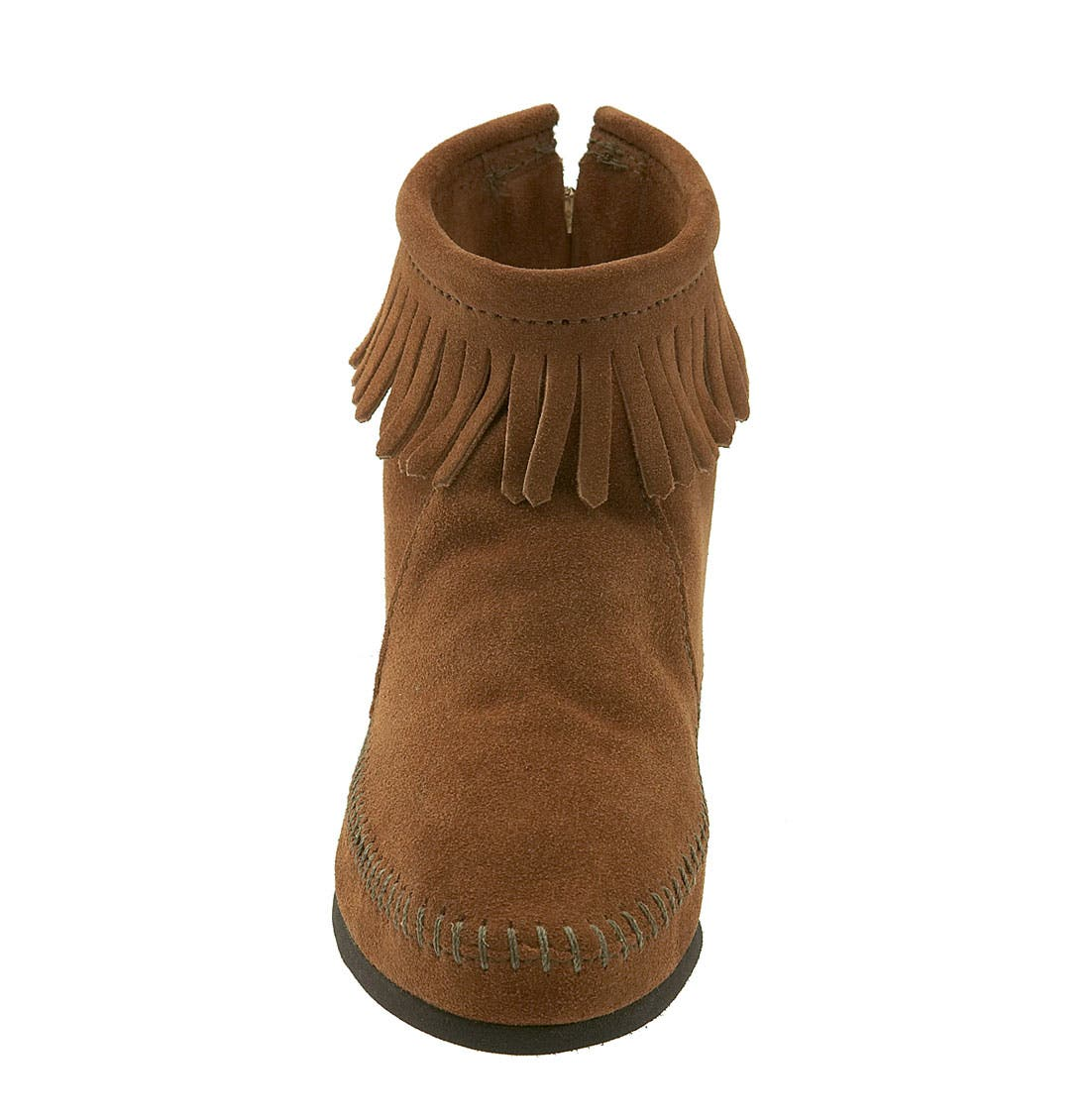 Alternate Image 3  - Minnetonka Fringed Short Boot