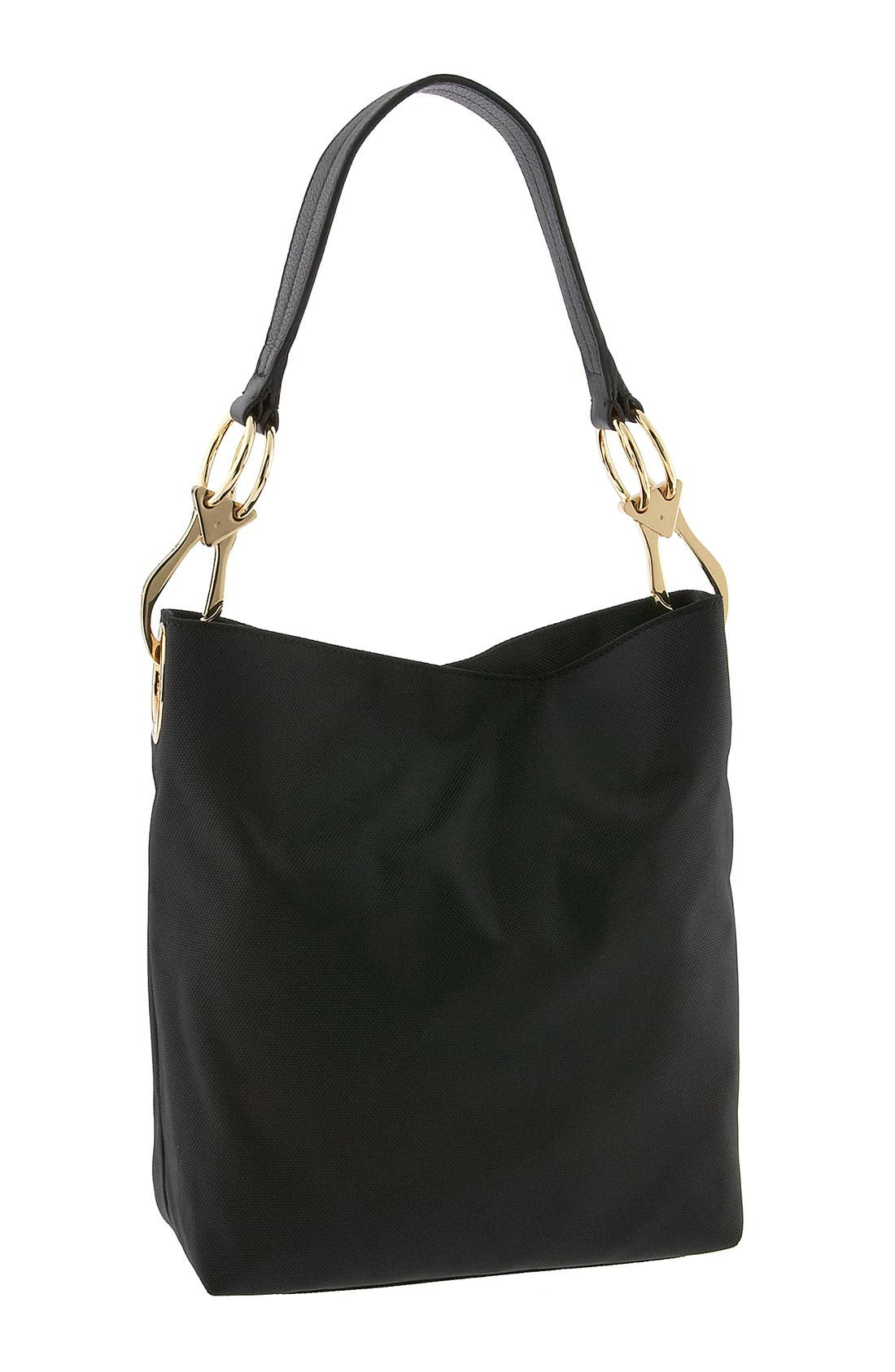 Alternate Image 1 Selected - JPK Paris Nylon Bucket Bag with Chunky Hardware