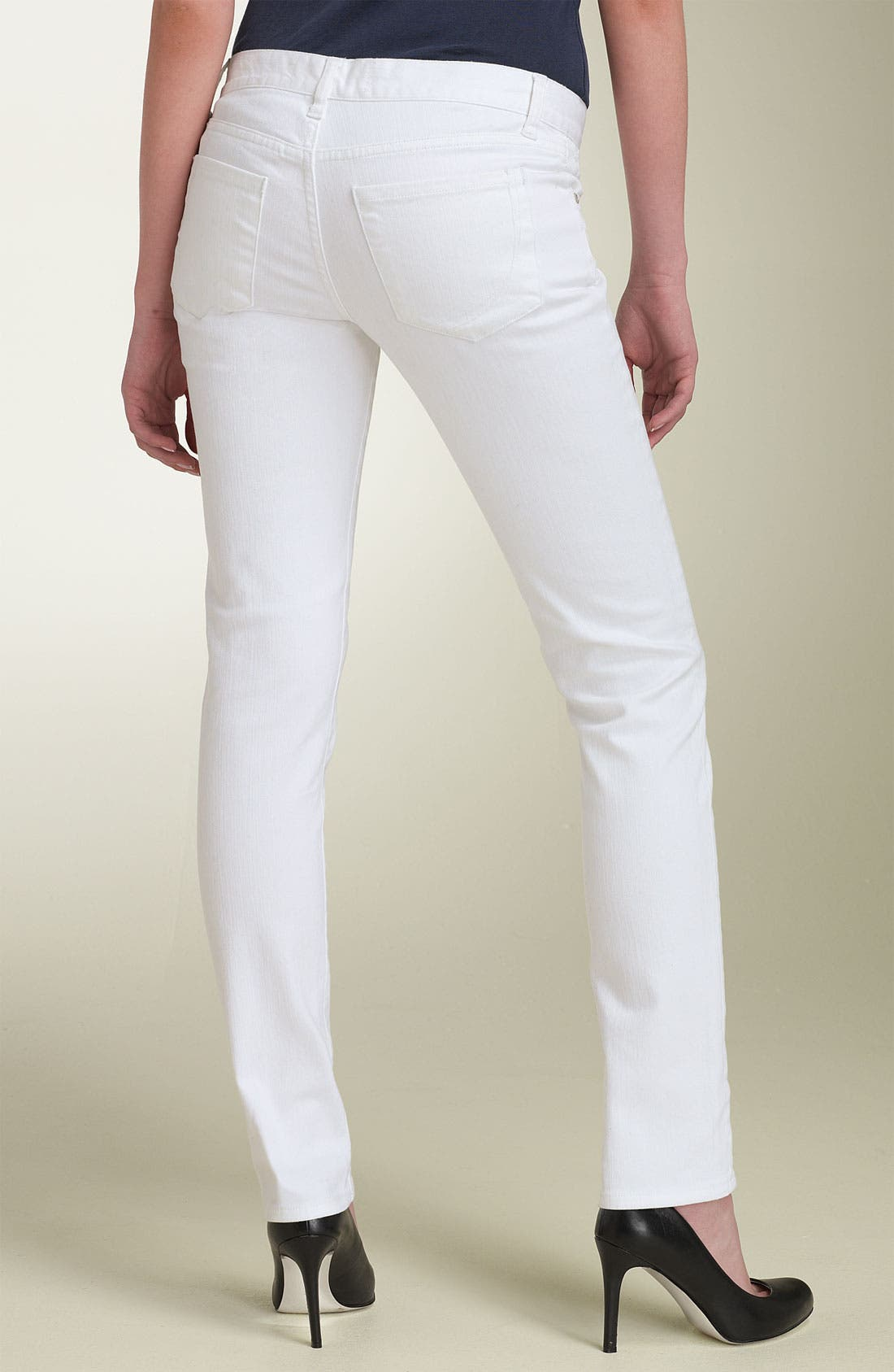 Alternate Image 1 Selected - paperdenim&cloth 'Audrey' Cigarette Leg Stretch Jeans