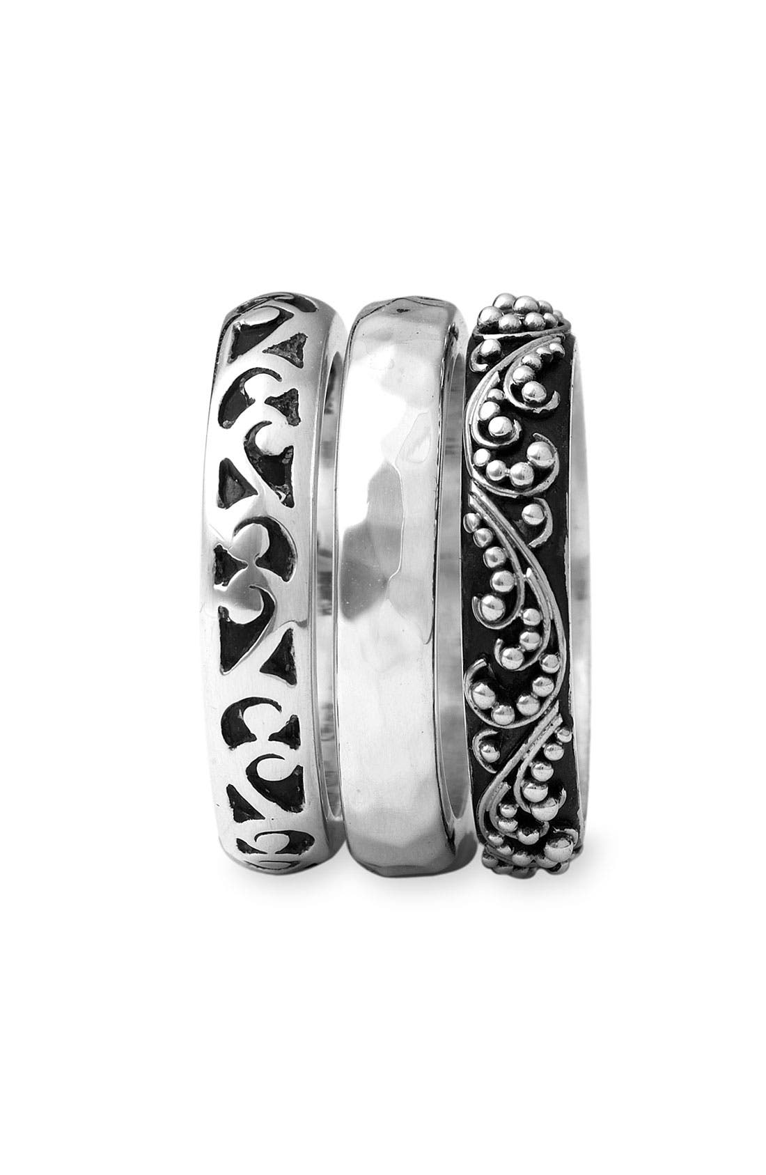 Alternate Image 2  - Lois Hill Cutout Three-Stack Rings