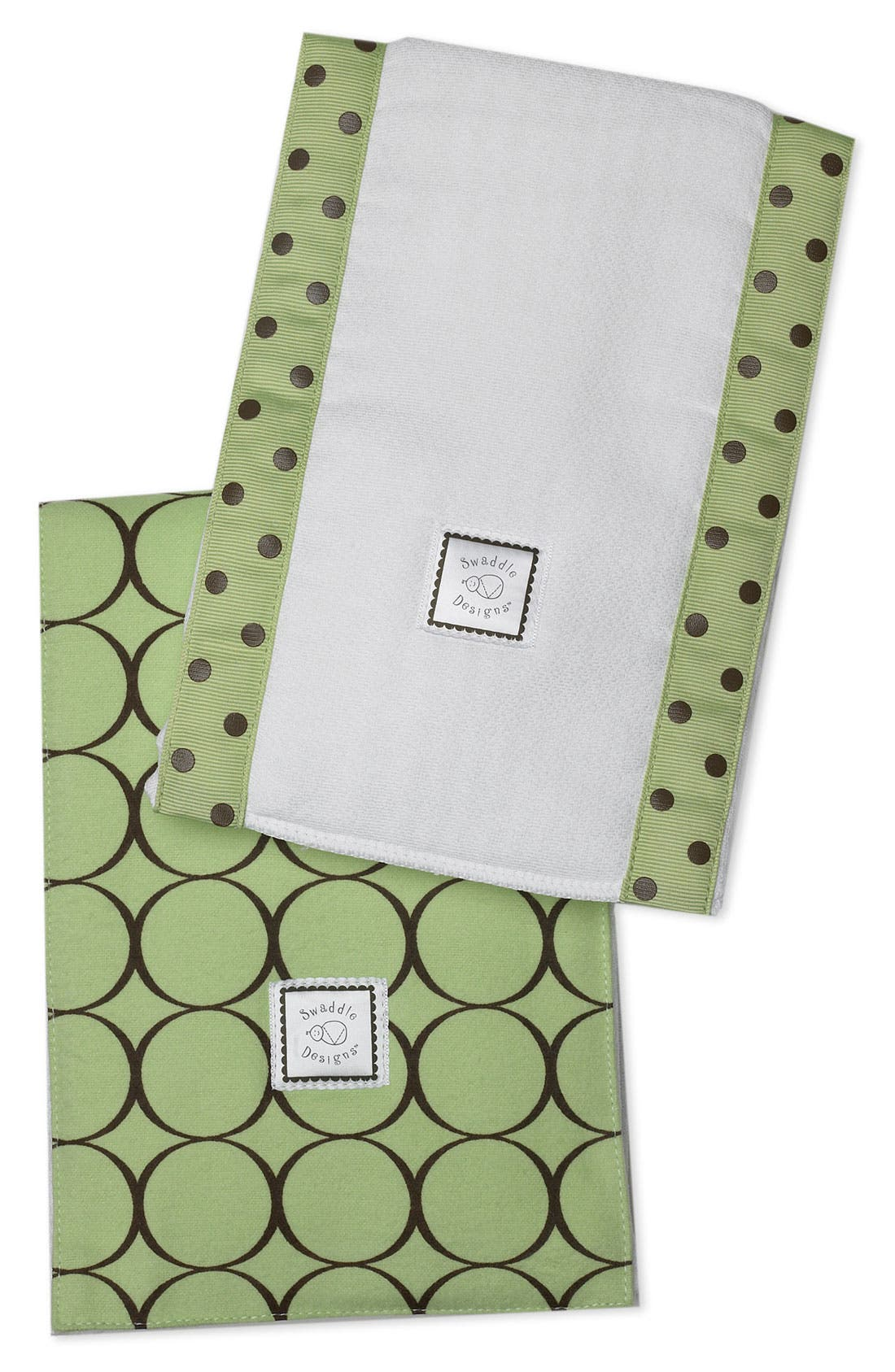 Main Image - Swaddle Designs Burp Cloth Set