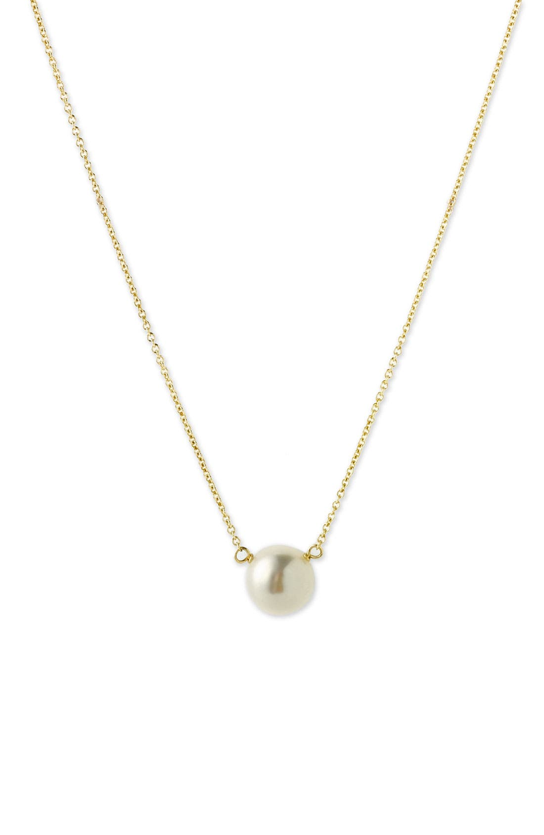 Alternate Image 2  - Dogeared Freshwater Pearl Pendant Necklace