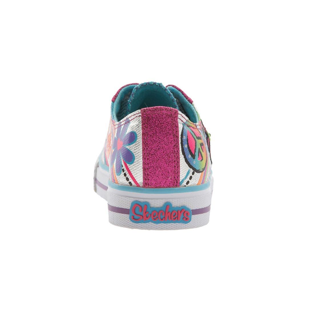 Alternate Image 4  - SKECHERS 'Shuffles - Lights' Sneaker (Walker, Toddler & Little Kid)