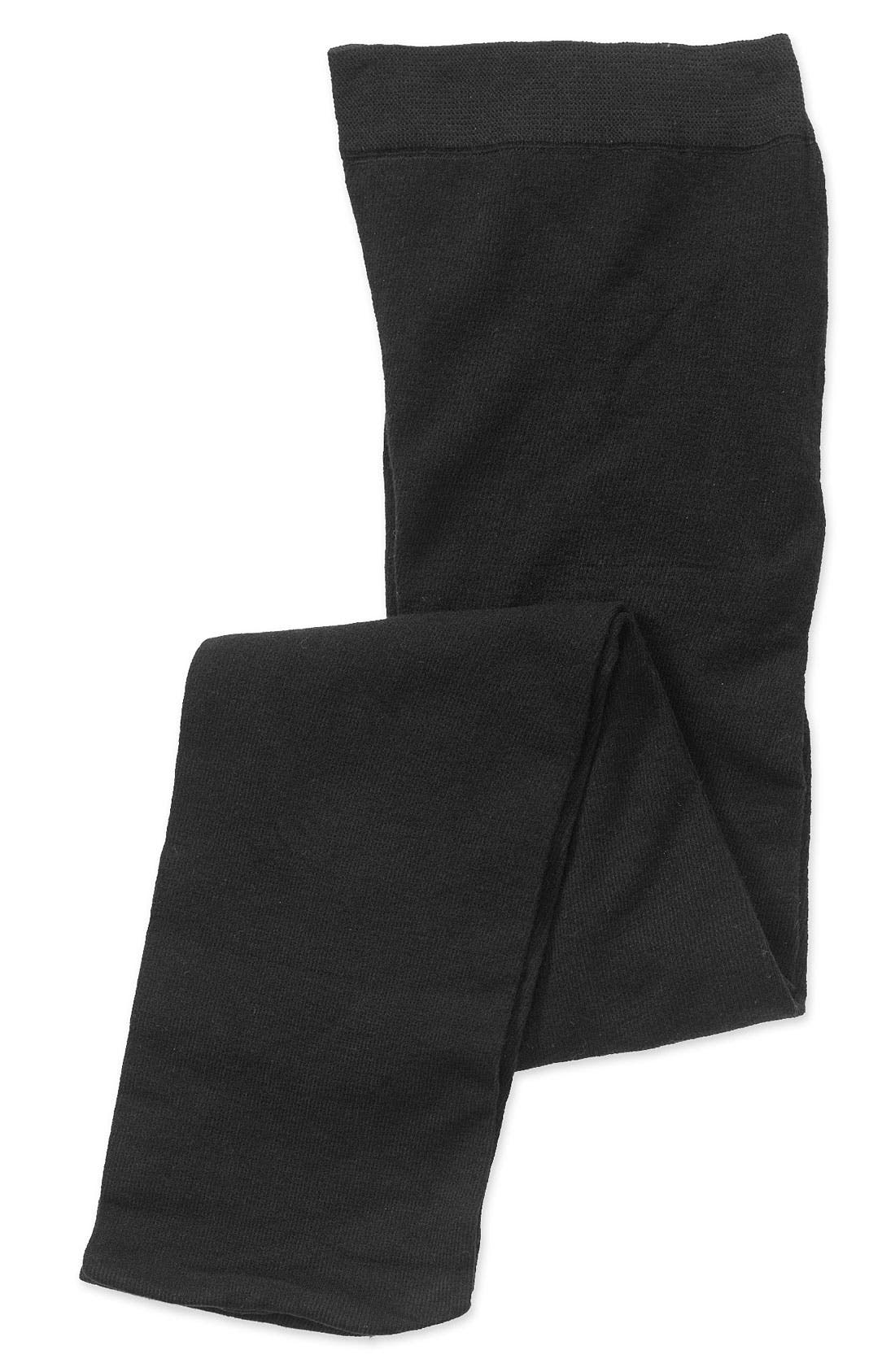 Main Image - Nordstrom Cotton Tights (Baby, Toddler, Little Kid & Big Kid) (3 for $21)