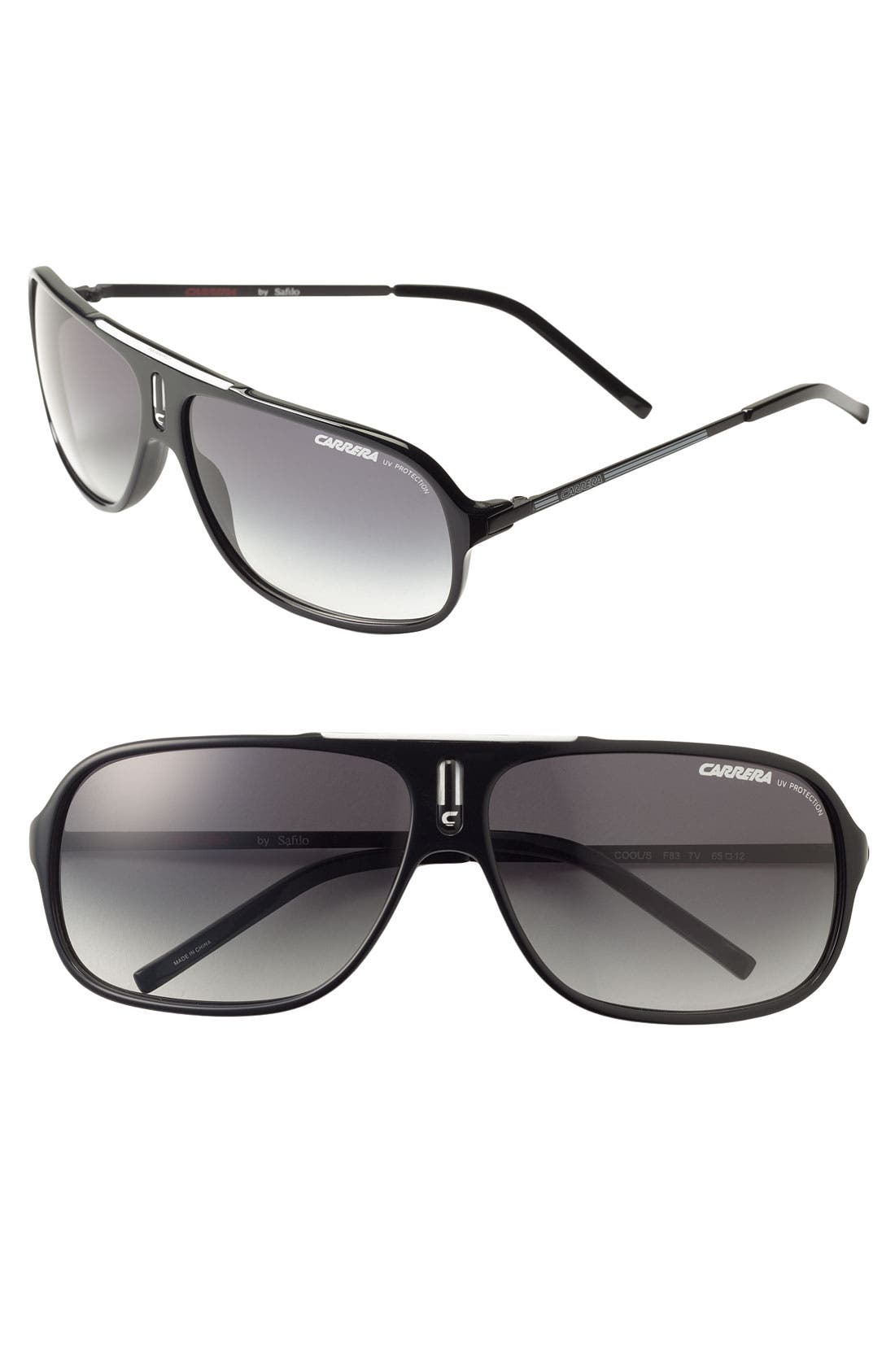 Carrera Eyewear 'Cool' 65mm Aviator Sunglasses