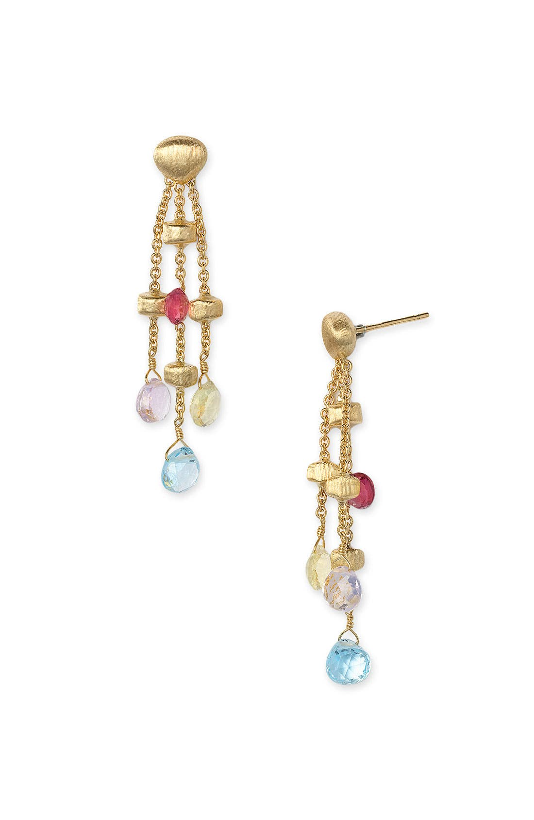Alternate Image 1 Selected - Marco Bicego 'Paradise' Triple Strand Earrings