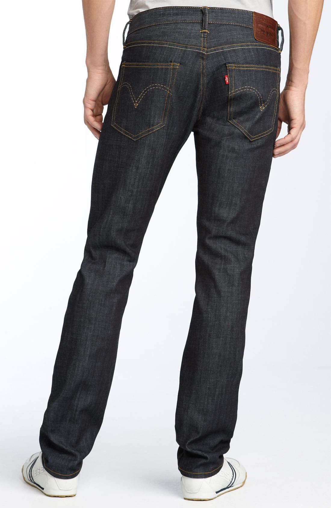 Alternate Image 1 Selected - Levi's® Red Tab™ 'Matchstick' Skinny Jeans (Stretch Rigid)