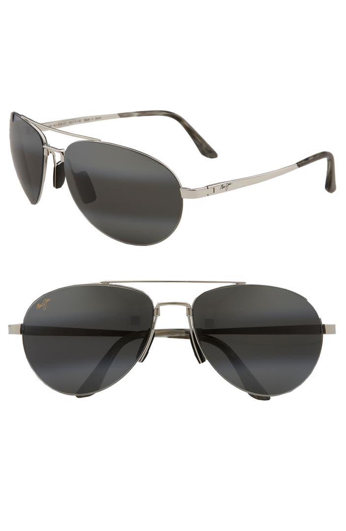 8dd11bef785af Maui Jim  Pilot - PolarizedPlus 2  63mm Sunglasses
