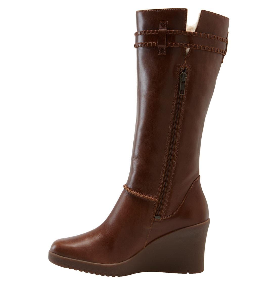 Alternate Image 2  - UGG® Australia 'Maxene' Wedge Boot (Women)