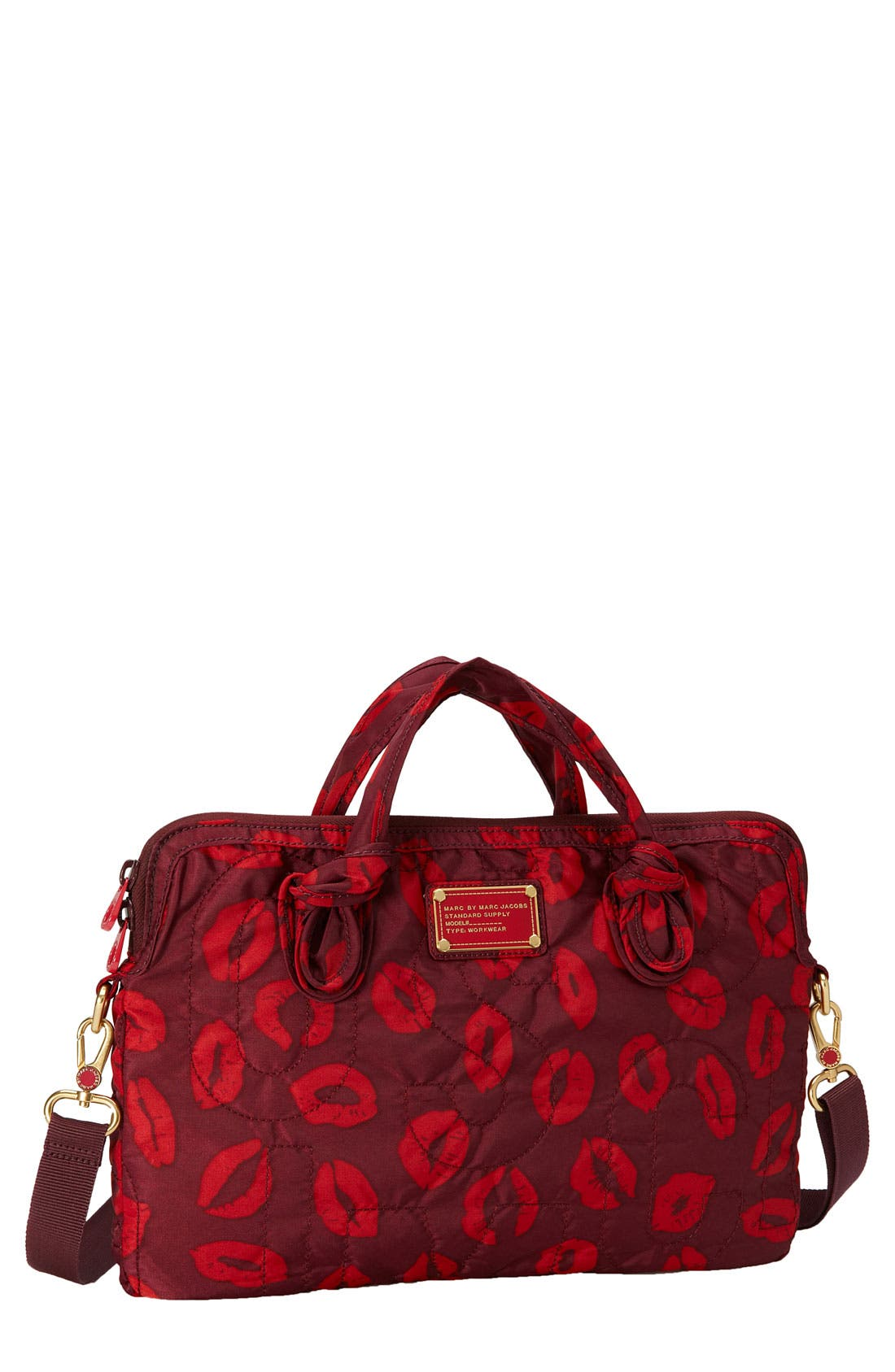 Main Image - MARC BY MARC JACOBS 'Pretty Nylon - Computer Commuter' Bag (15 Inch)