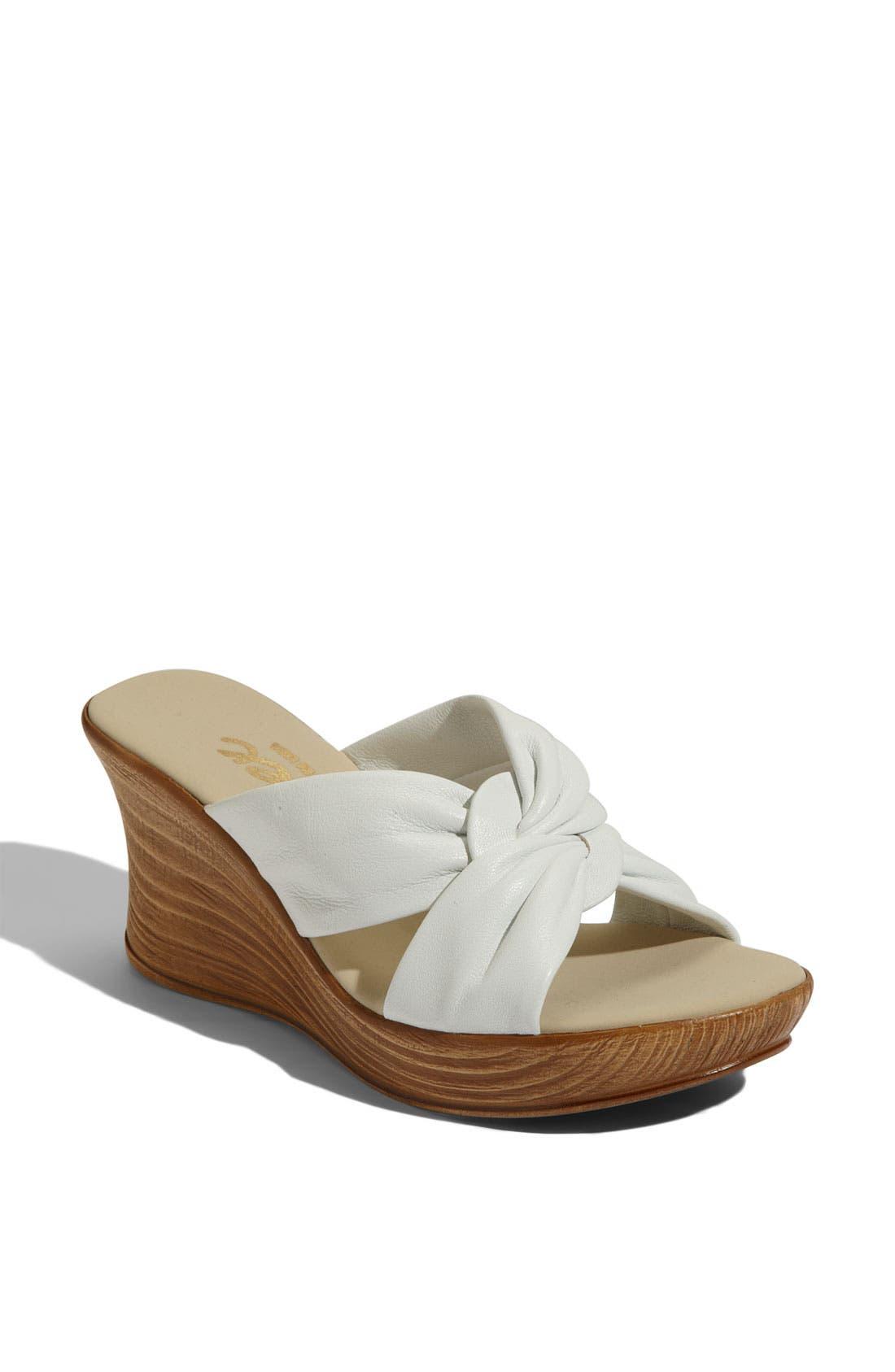 Alternate Image 1 Selected - Onex 'Puffy' Platform Sandal