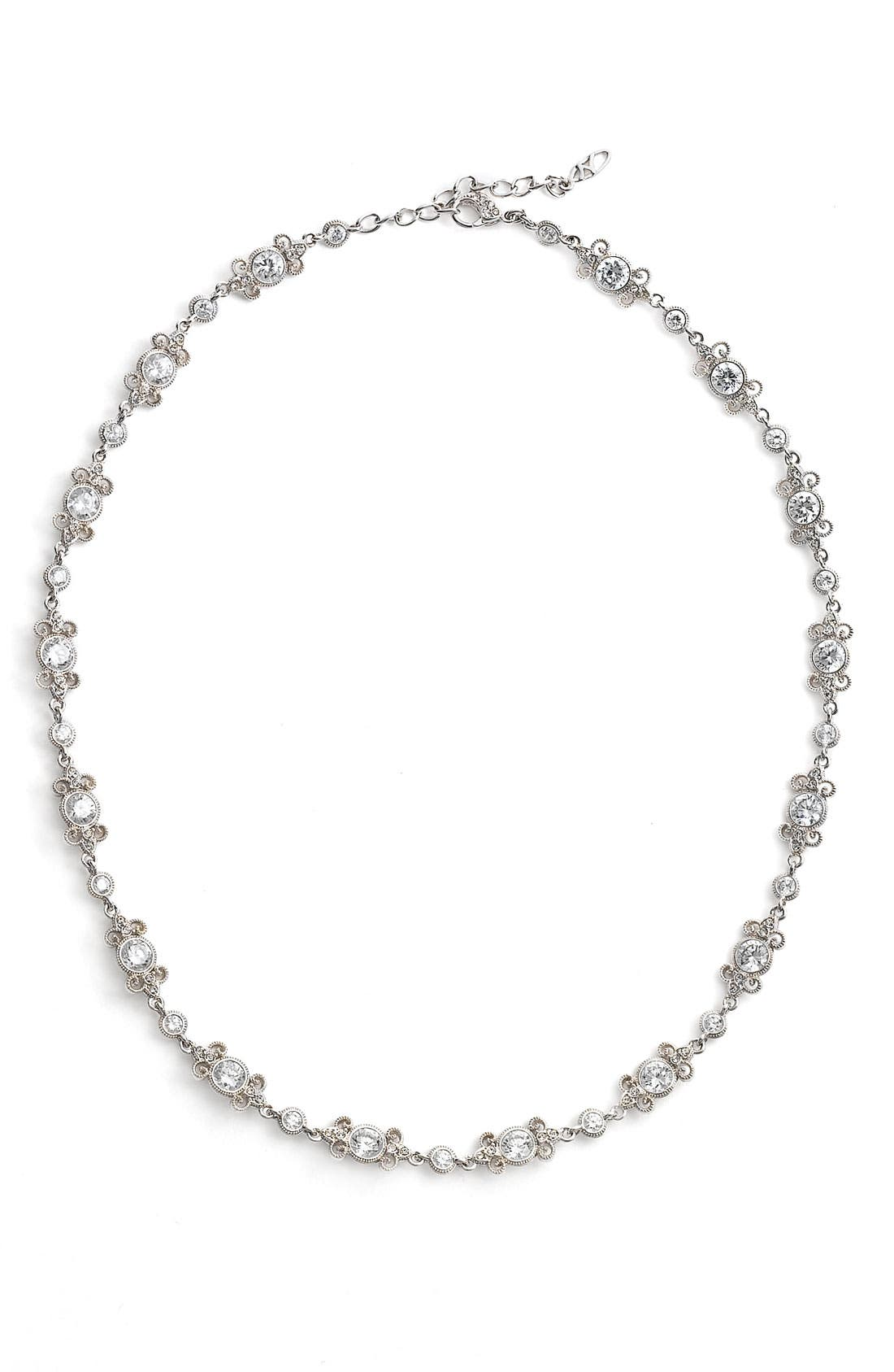 Alternate Image 1 Selected - Nadri 'Poesia' Crystal Necklace