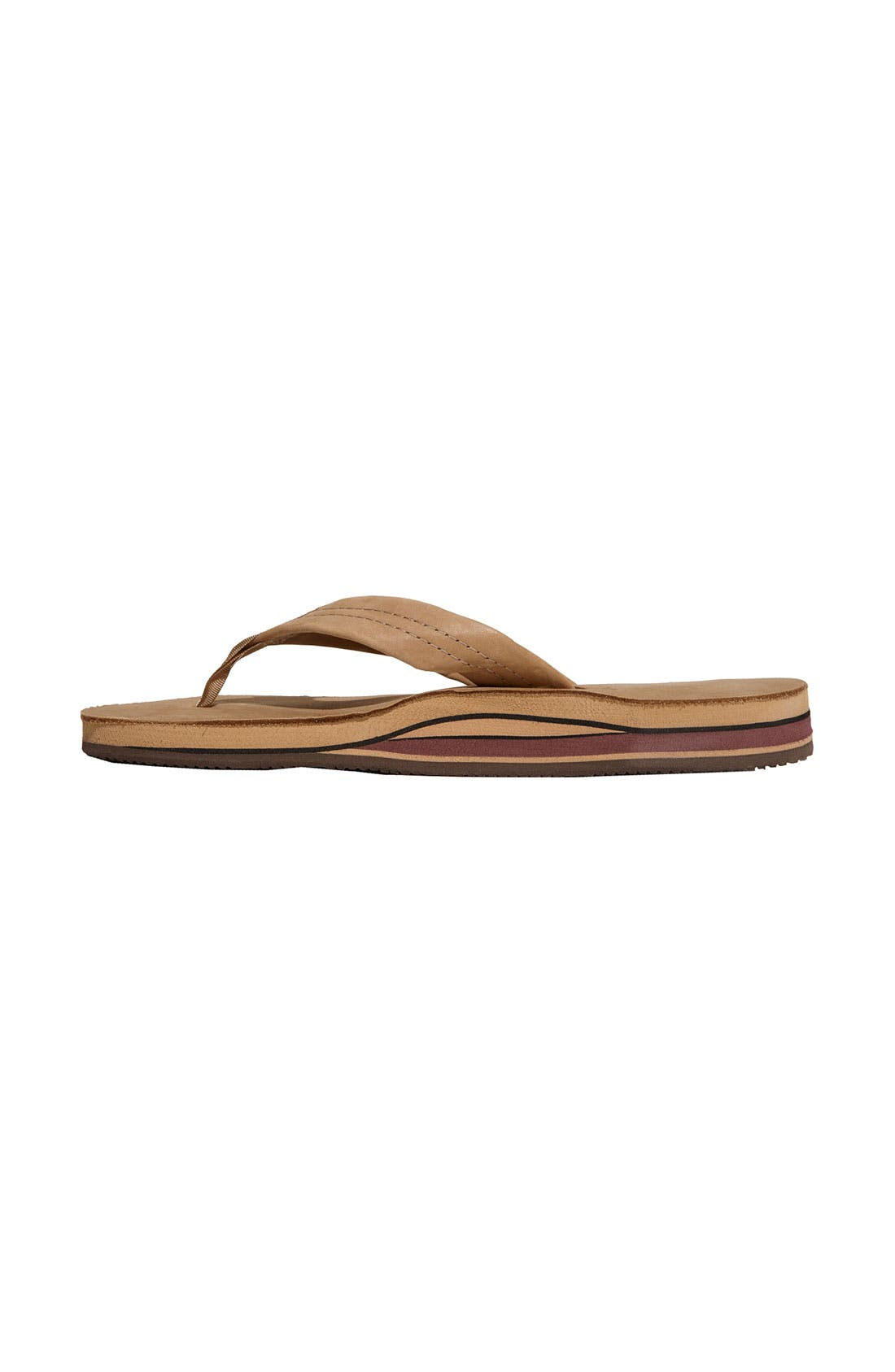 Alternate Image 2  - Rainbow Double Layer Thong Sandal (Women)