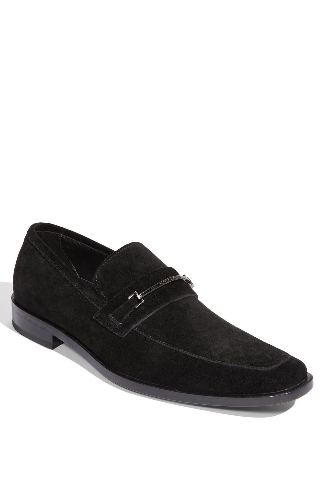 Alternate Image 1 Selected - BOSS Black 'Carl' Loafer (Men)