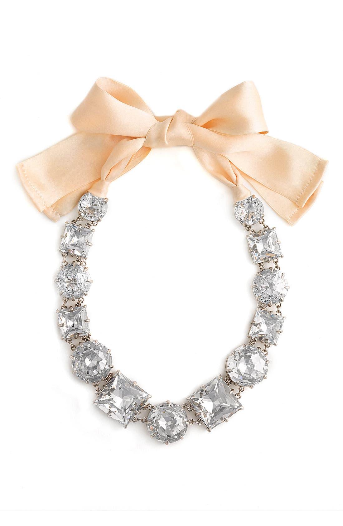 Alternate Image 1 Selected - kate spade new york 'crystal kaleidoscope' long necklace