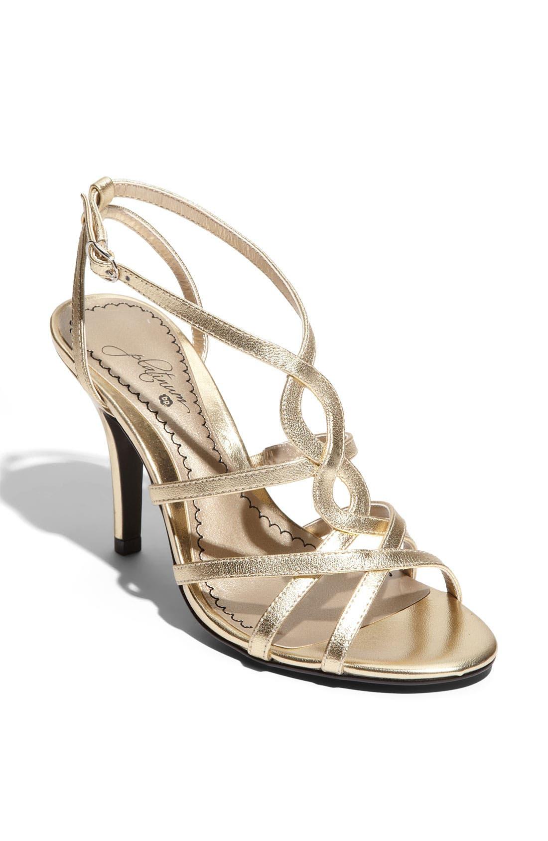 Alternate Image 1 Selected - BP. Platinum 'Twirl' Sandal