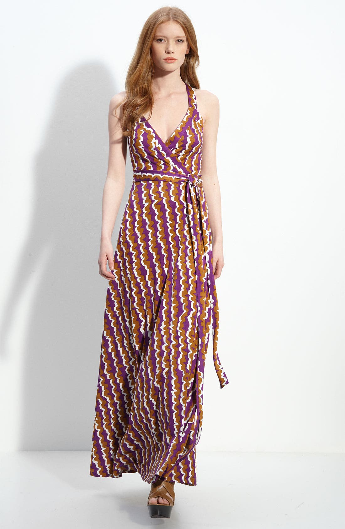 Alternate Image 1 Selected - Diane von Furstenberg 'Samson' Silk Jersey Wrap Dress