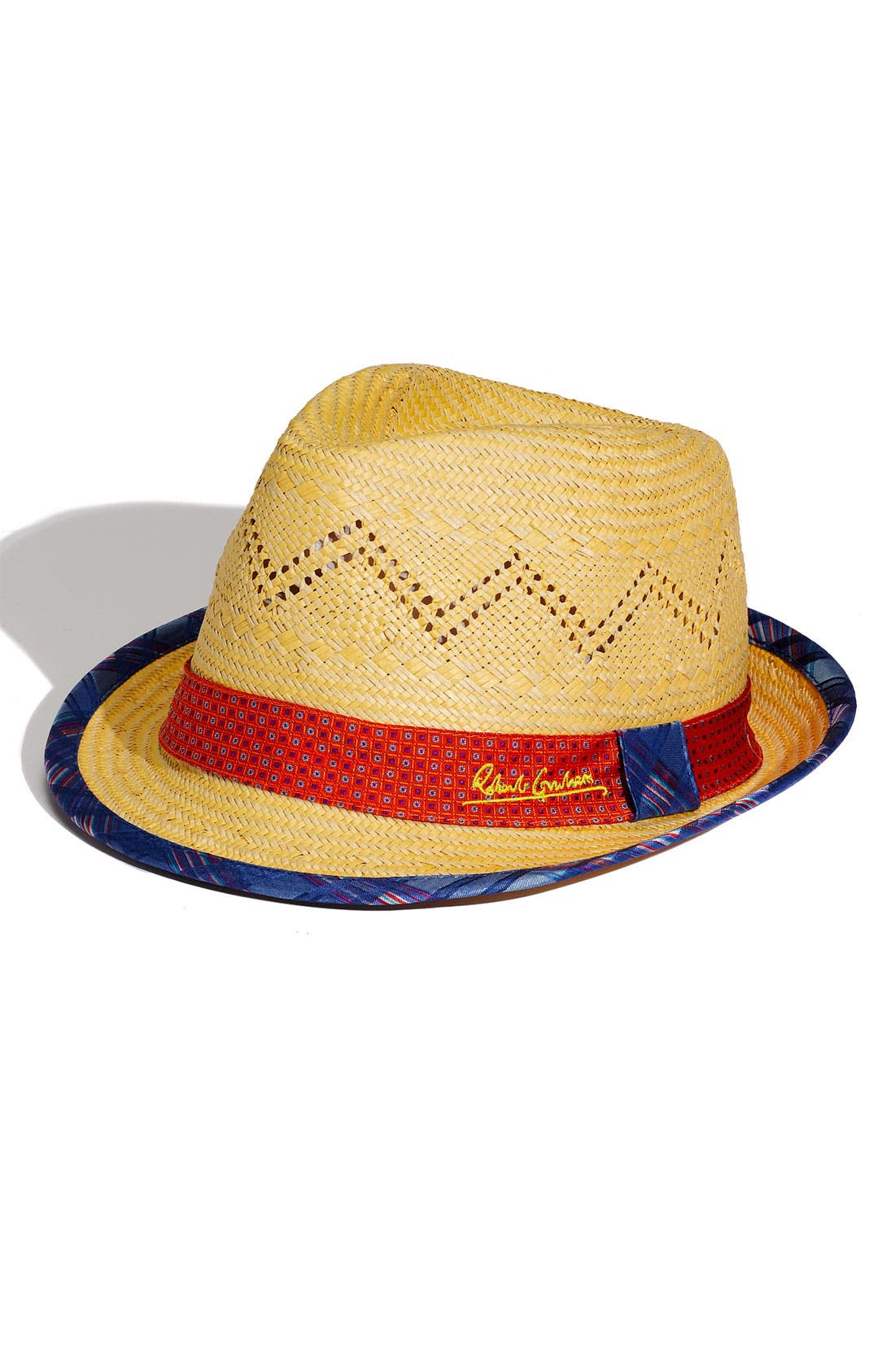 Main Image - Robert Graham 'Bruno' Straw Fedora
