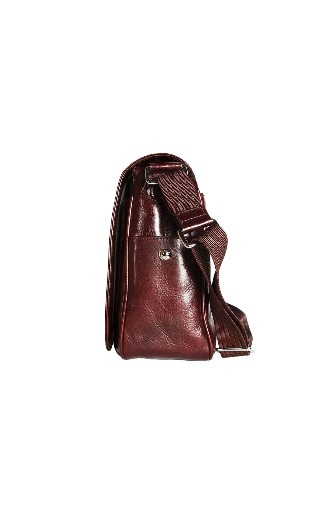Alternate Image 5  - Bosca Leather Messenger Bag