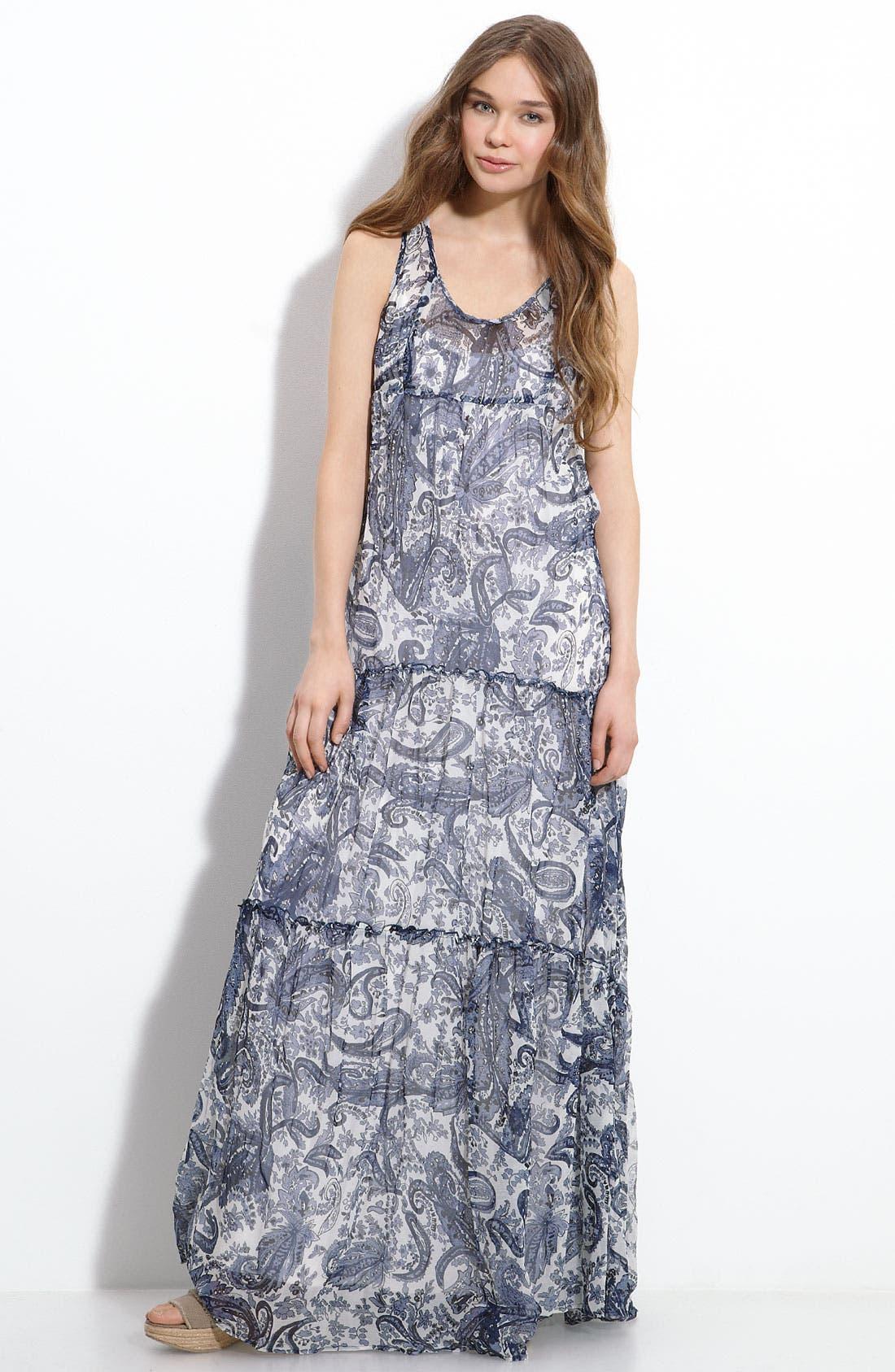 Main Image - Willow & Clay Print Maxi Dress