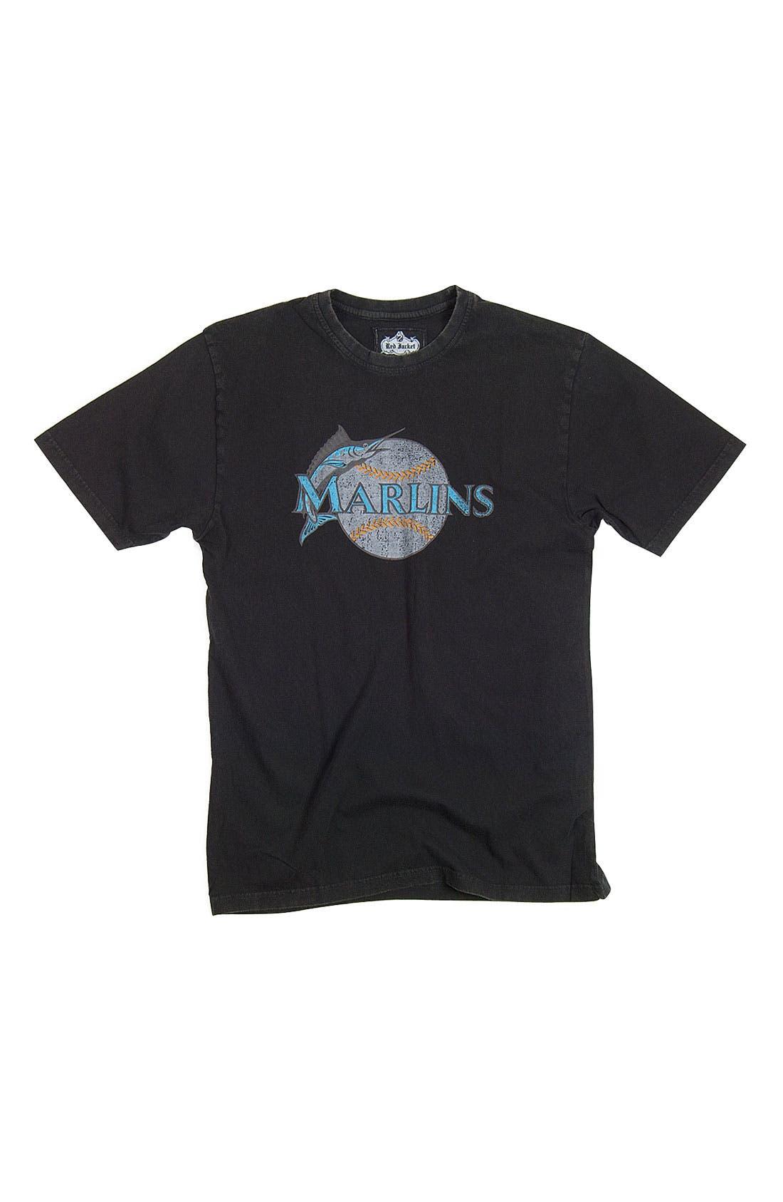 Alternate Image 1 Selected - Red Jacket 'Florida Marlins' Trim Fit T-Shirt (Men)