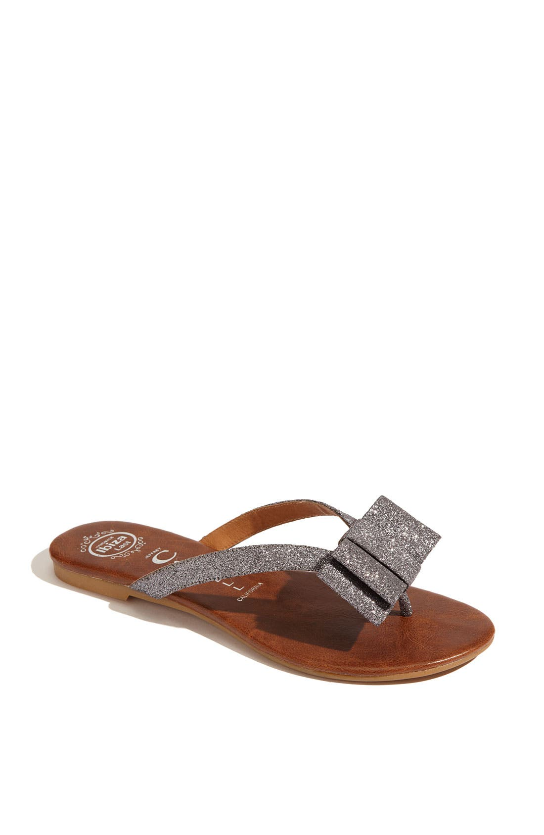 Alternate Image 1 Selected - Jeffrey Campbell 'Esmerald' Glitter Sandal