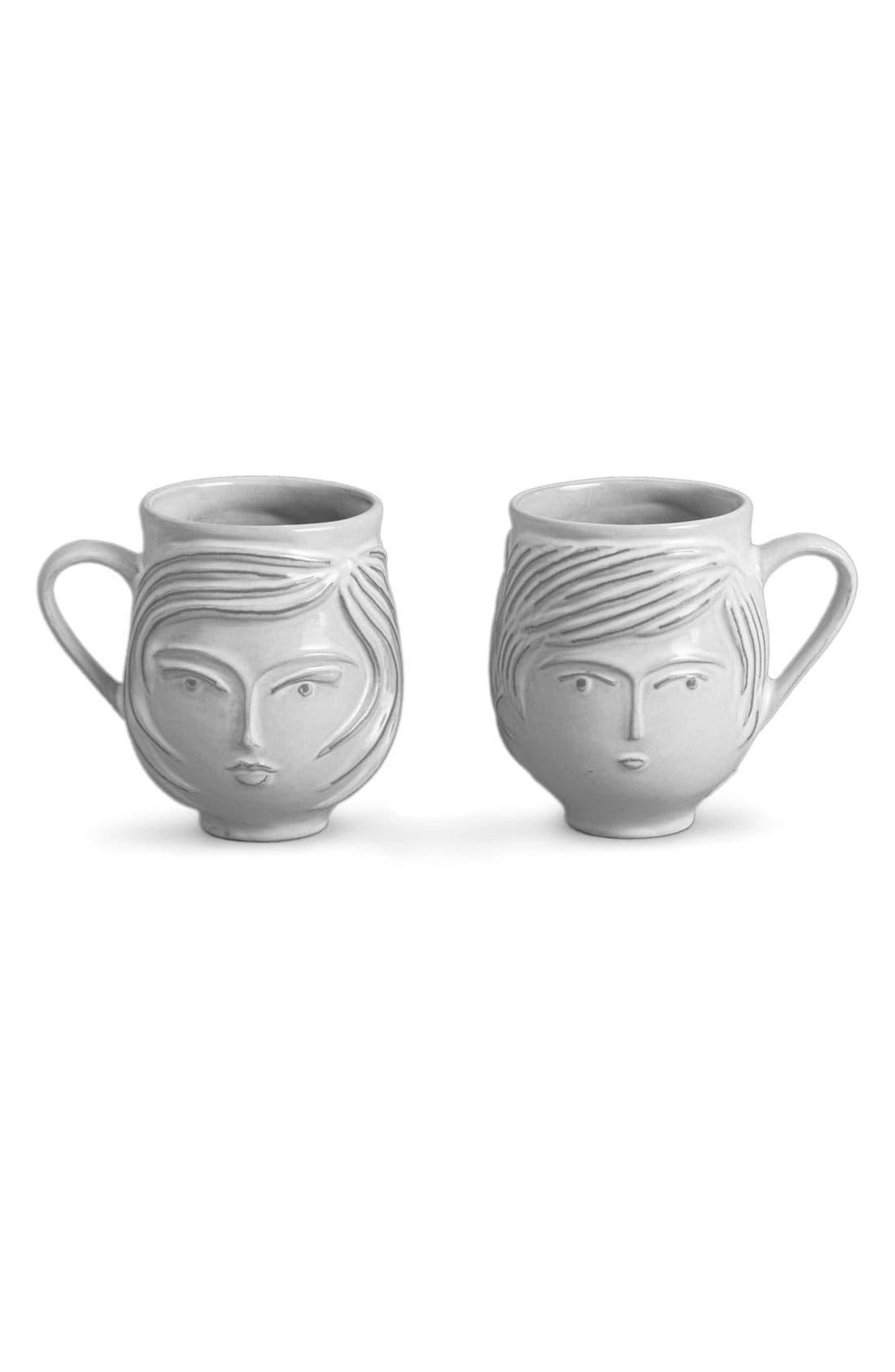 Main Image - Jonathan Adler 'Utopia' Reversible Mug
