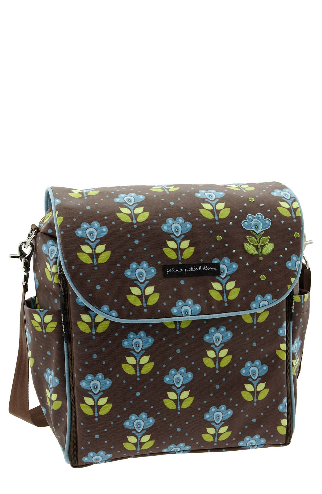 Main Image - Petunia Pickle Bottom 'Brocade' Diaper Bag
