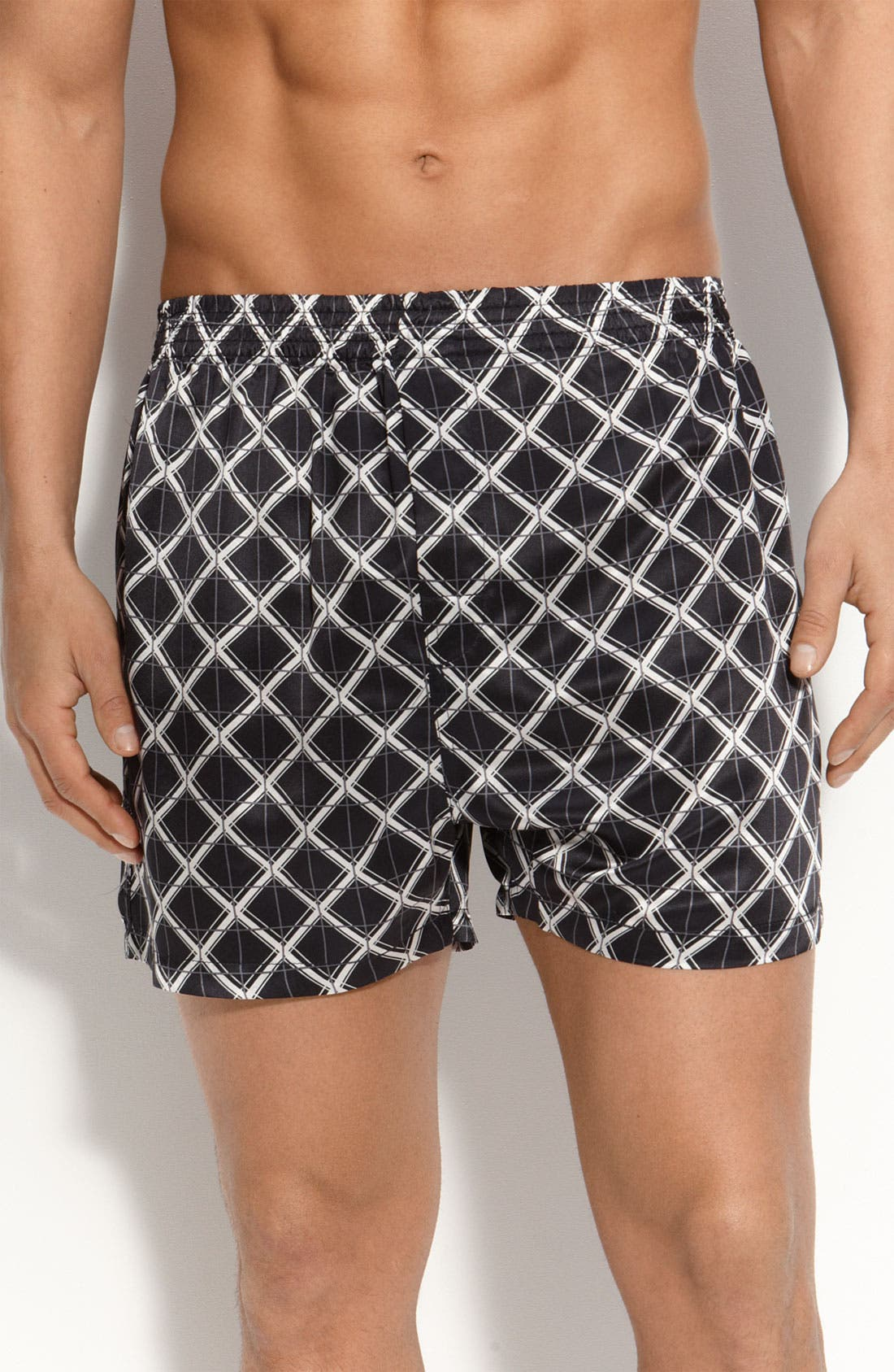 Alternate Image 1 Selected - Majestic International 'Ethans' Silk Boxer Shorts