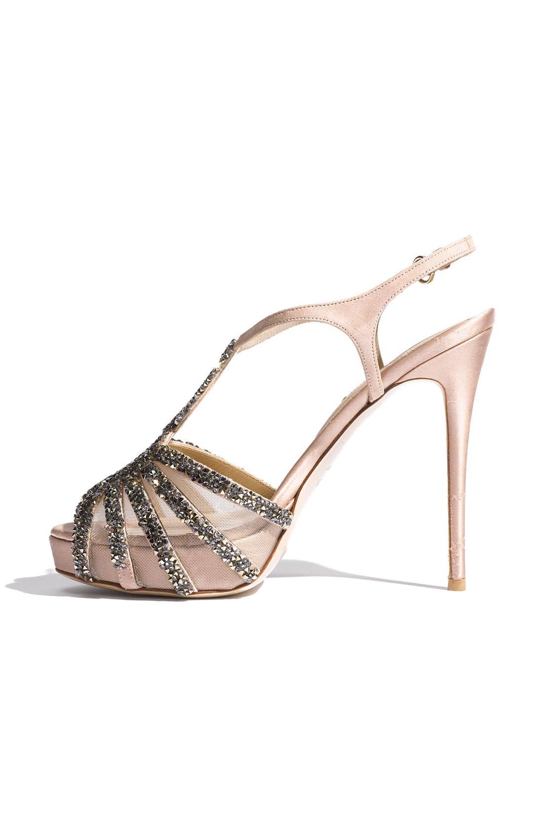 Alternate Image 2  - Valentino Embellished T-Strap Sandal