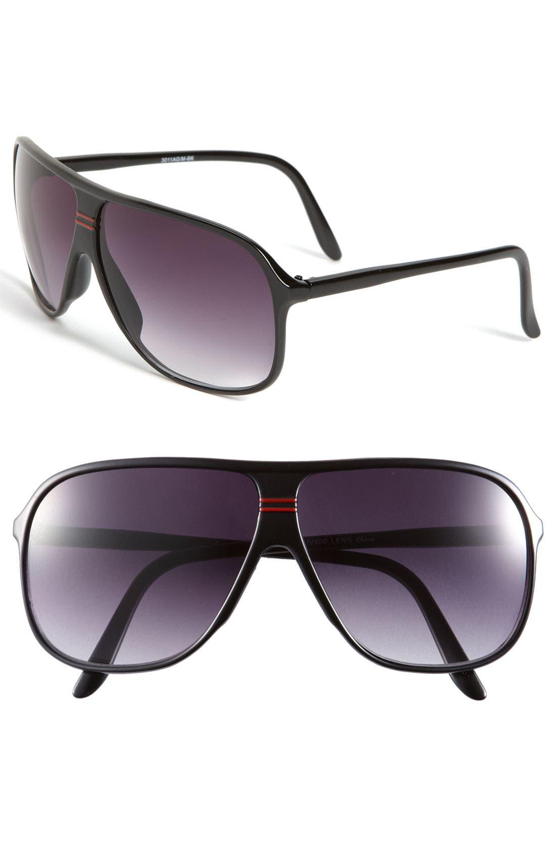 Main Image - KW 'Perry' Aviator Sunglasses