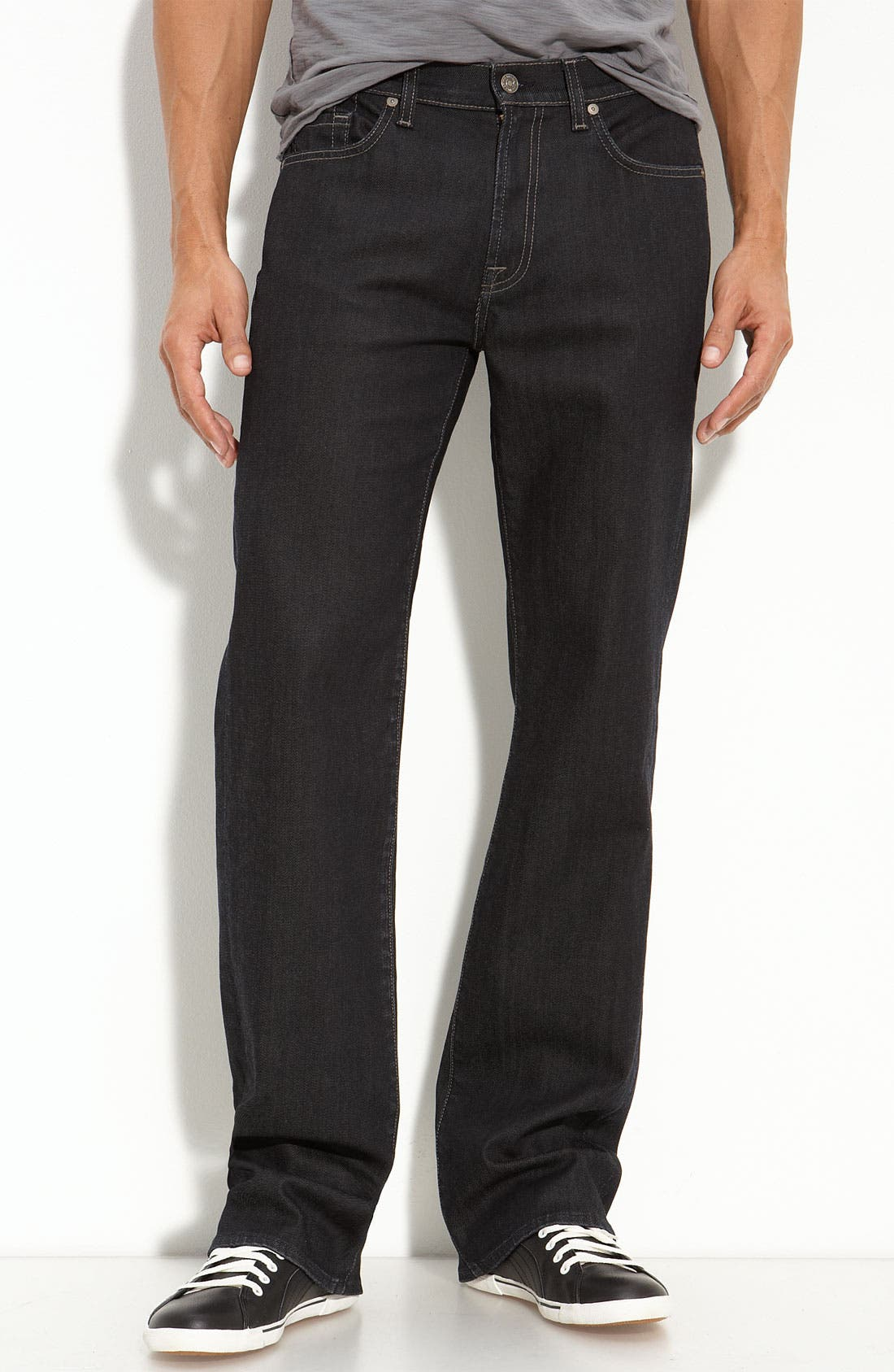 Alternate Image 2  - 7 For All Mankind® 'Austyn' Straight Leg Jeans (Chester Row)