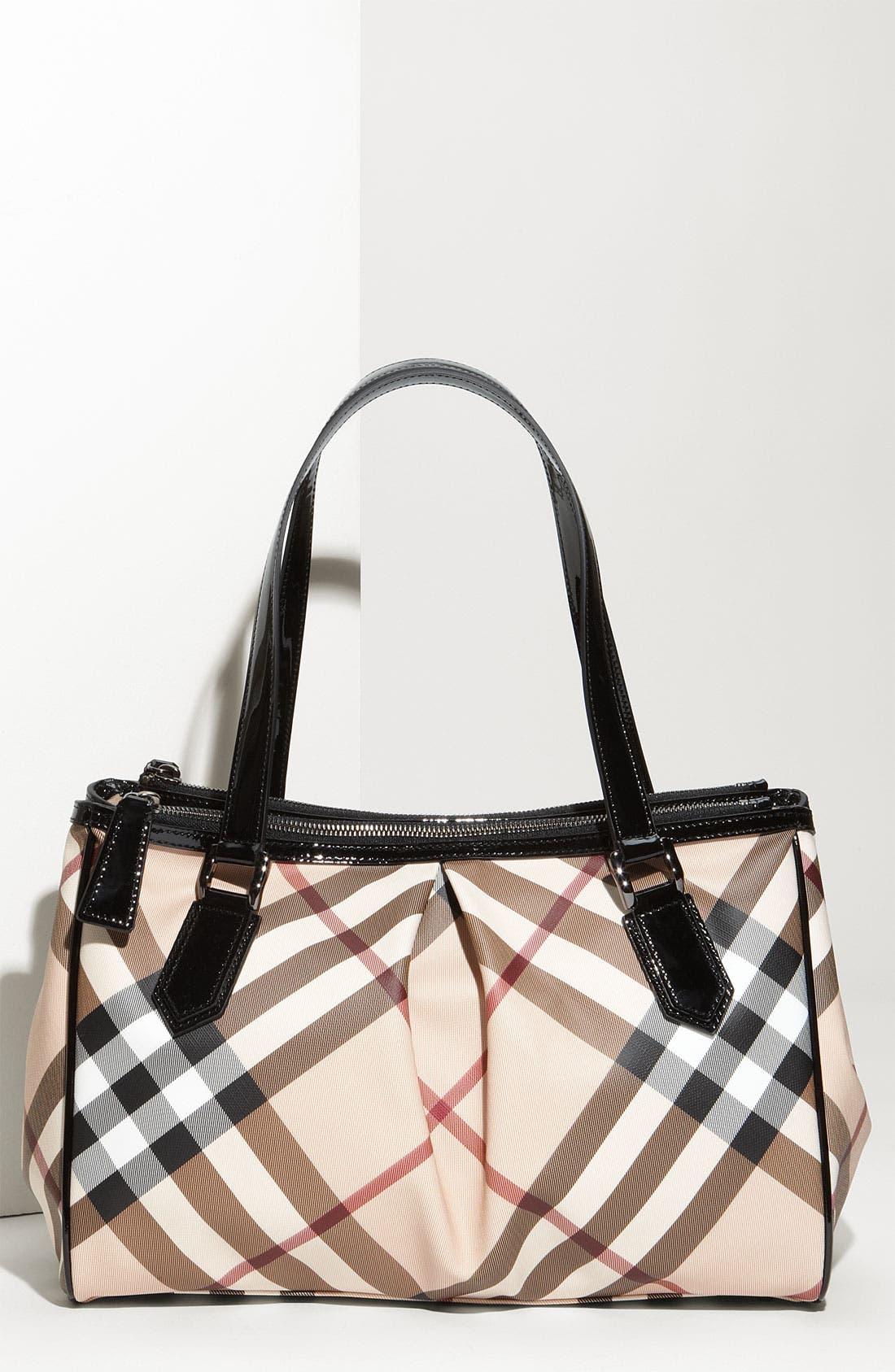 Main Image - Burberry 'Nova Check' Shopper